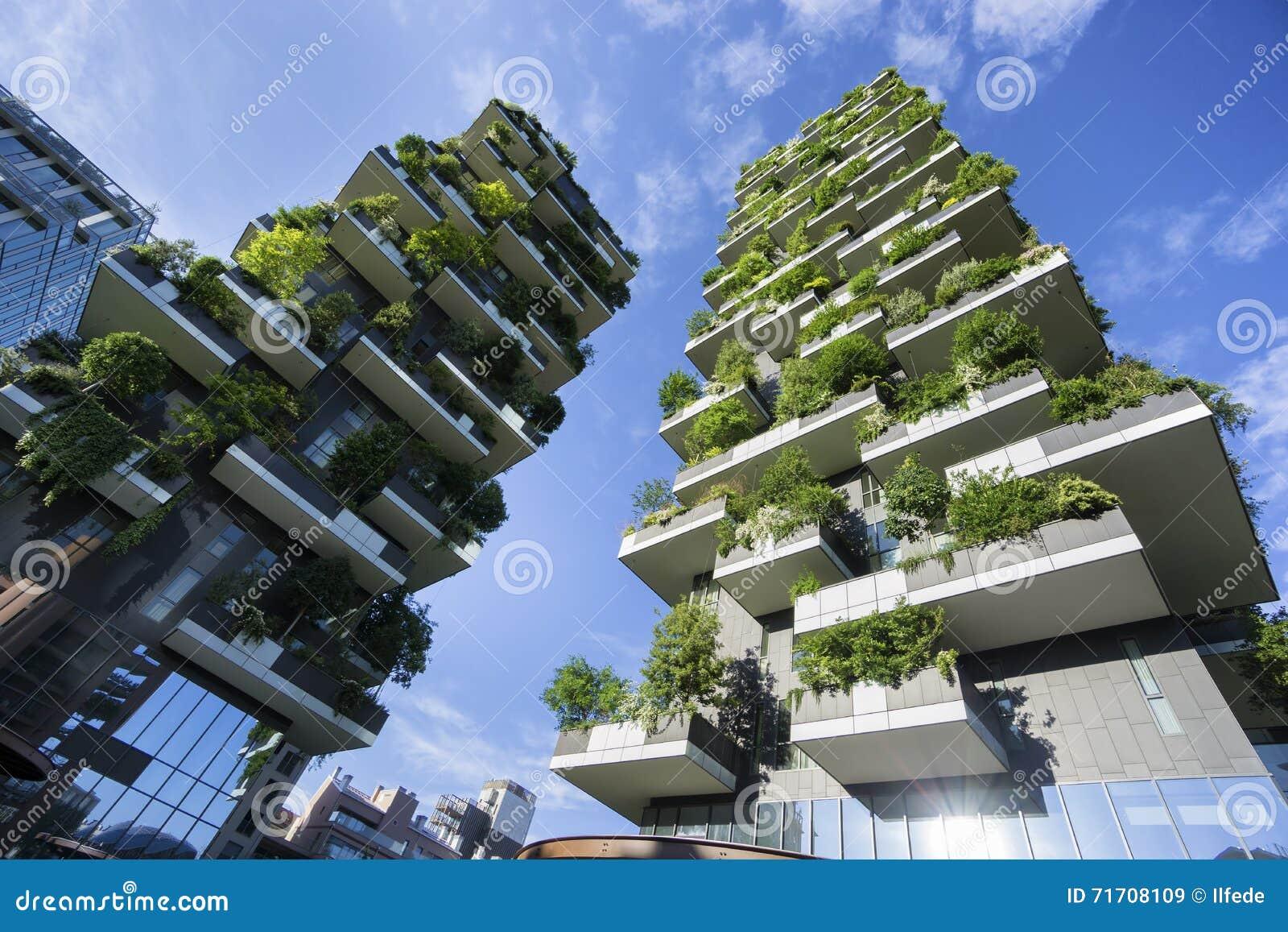 Bosco Verticale Vertical Forest i Milan