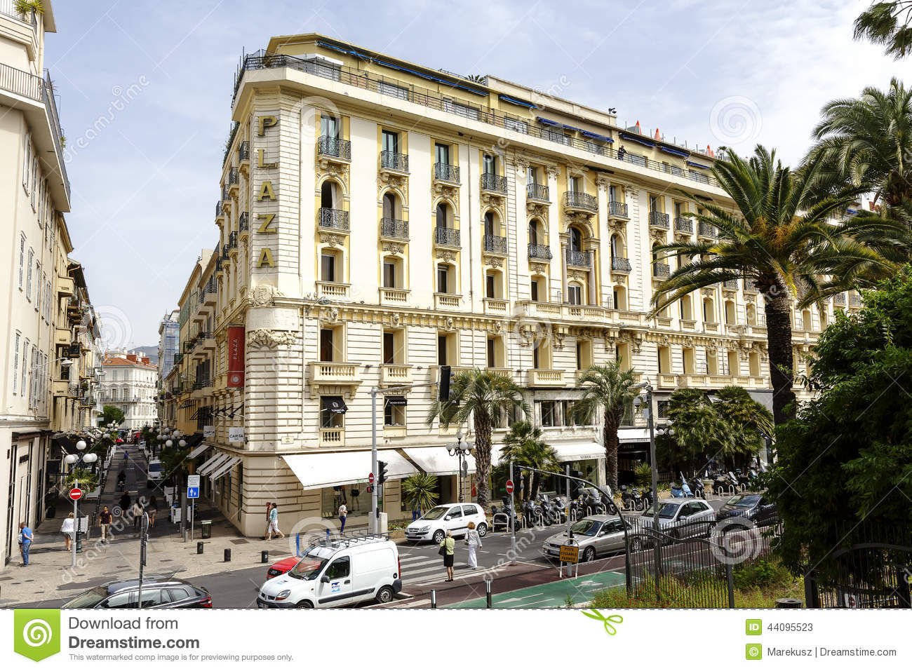 Boscolo hotel plaza in nice france editorial stock photo for Luxury hotel offers