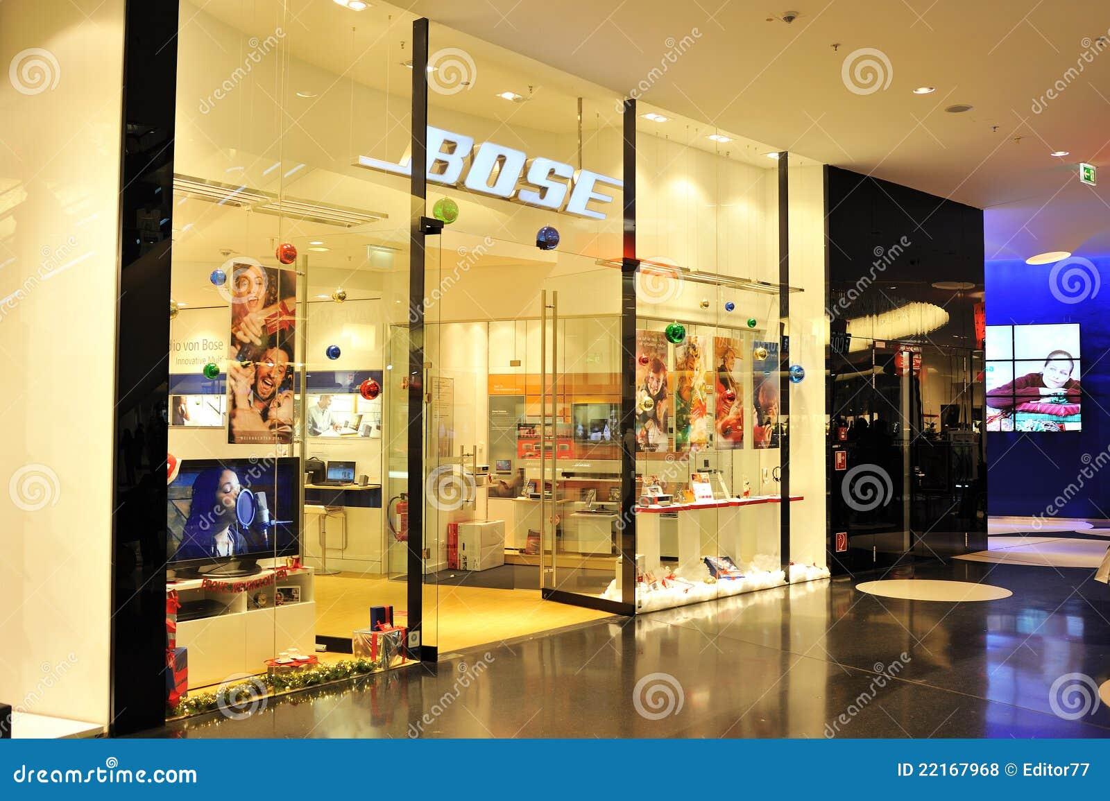 Bose Audio Store In Frankfurt Editorial Stock Photo