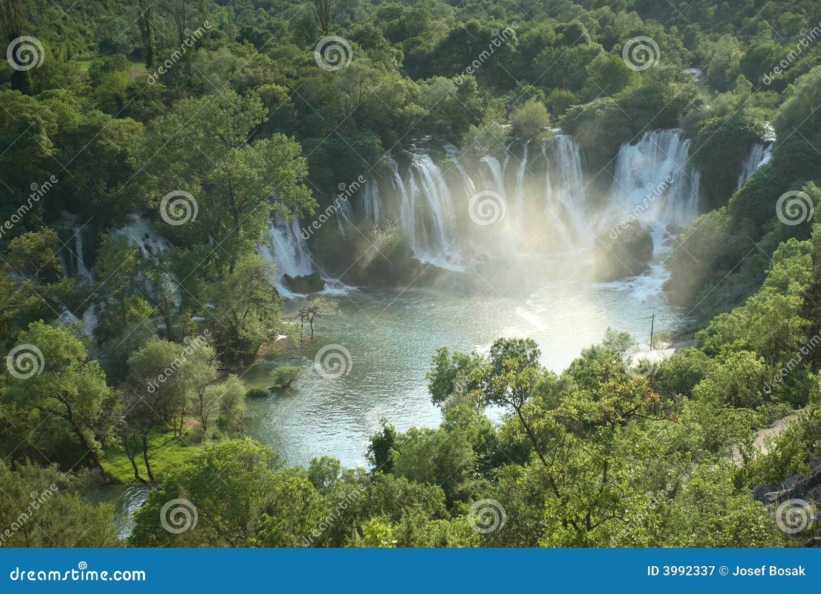 Bosnien - herzegovina kravicavattenfall