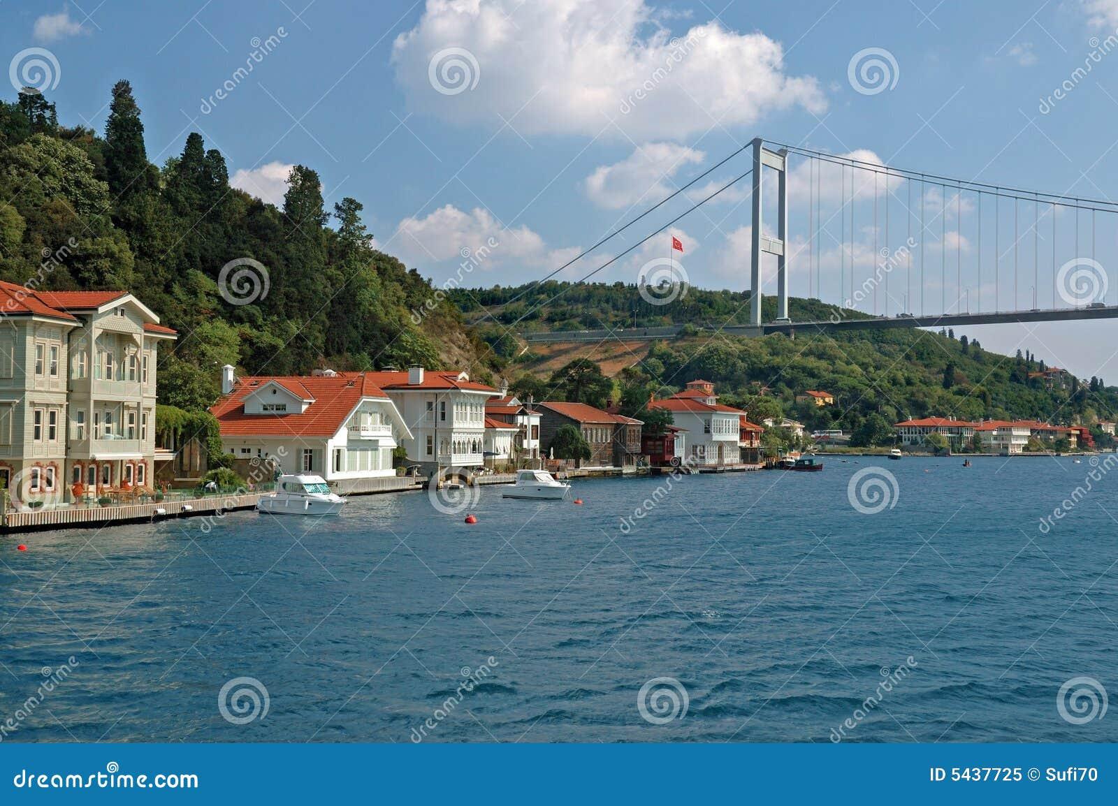 Bosphorus Strait In Istanbul, Turkey Stock Image - Image: 5437725