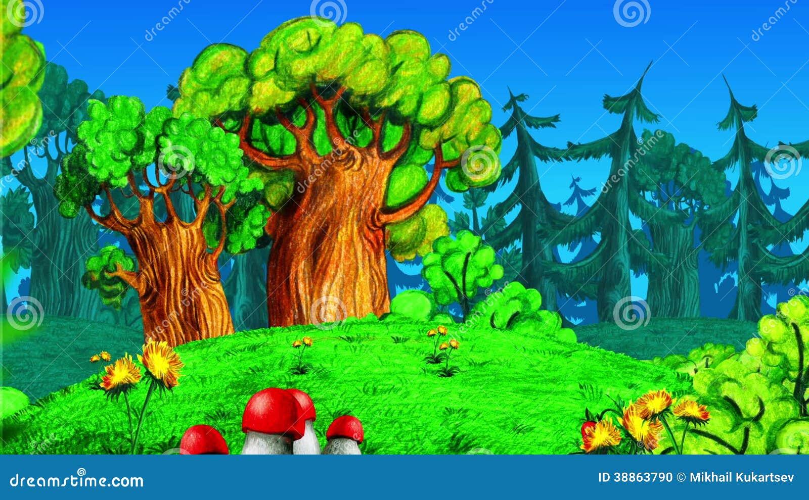 Bosque Animado Metraje Stock 1 320 Bosque Animado Videos Stock Dreamstime