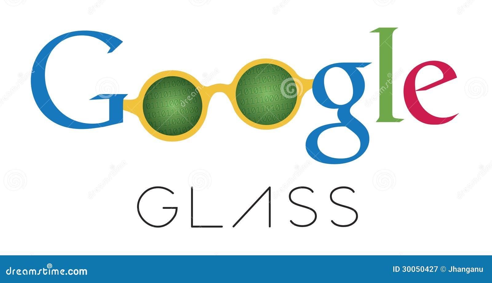 Historieta del vidrio de Google