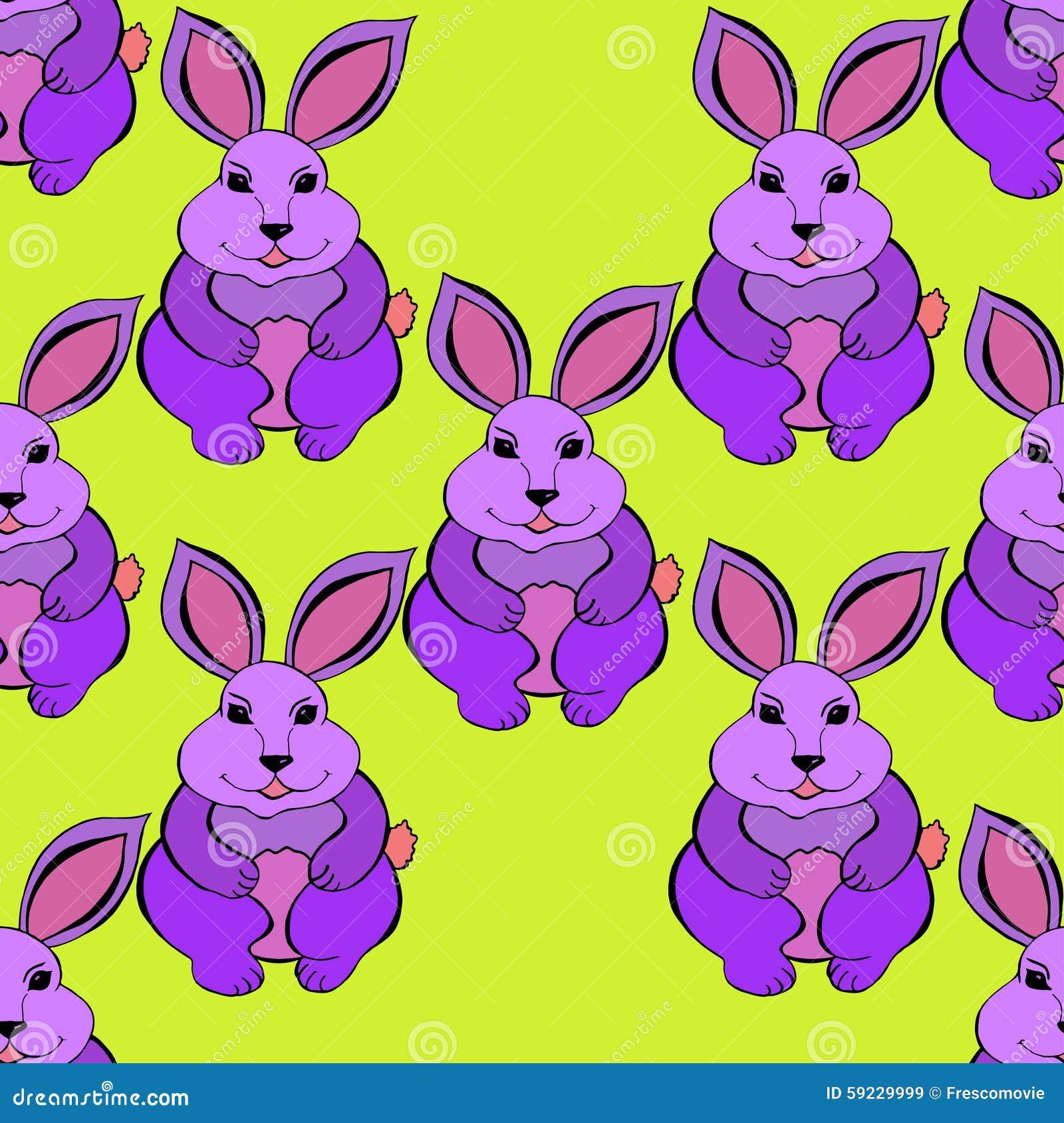 Download Bosquejo del conejo ilustración del vector. Ilustración de diversión - 59229999