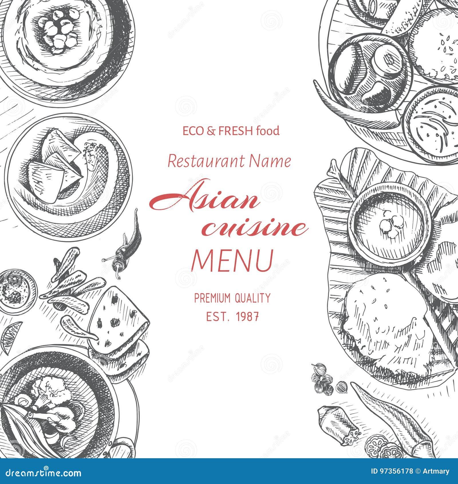 Excepcional Plantillas De Menú Indio Ornamento - Colección De ...