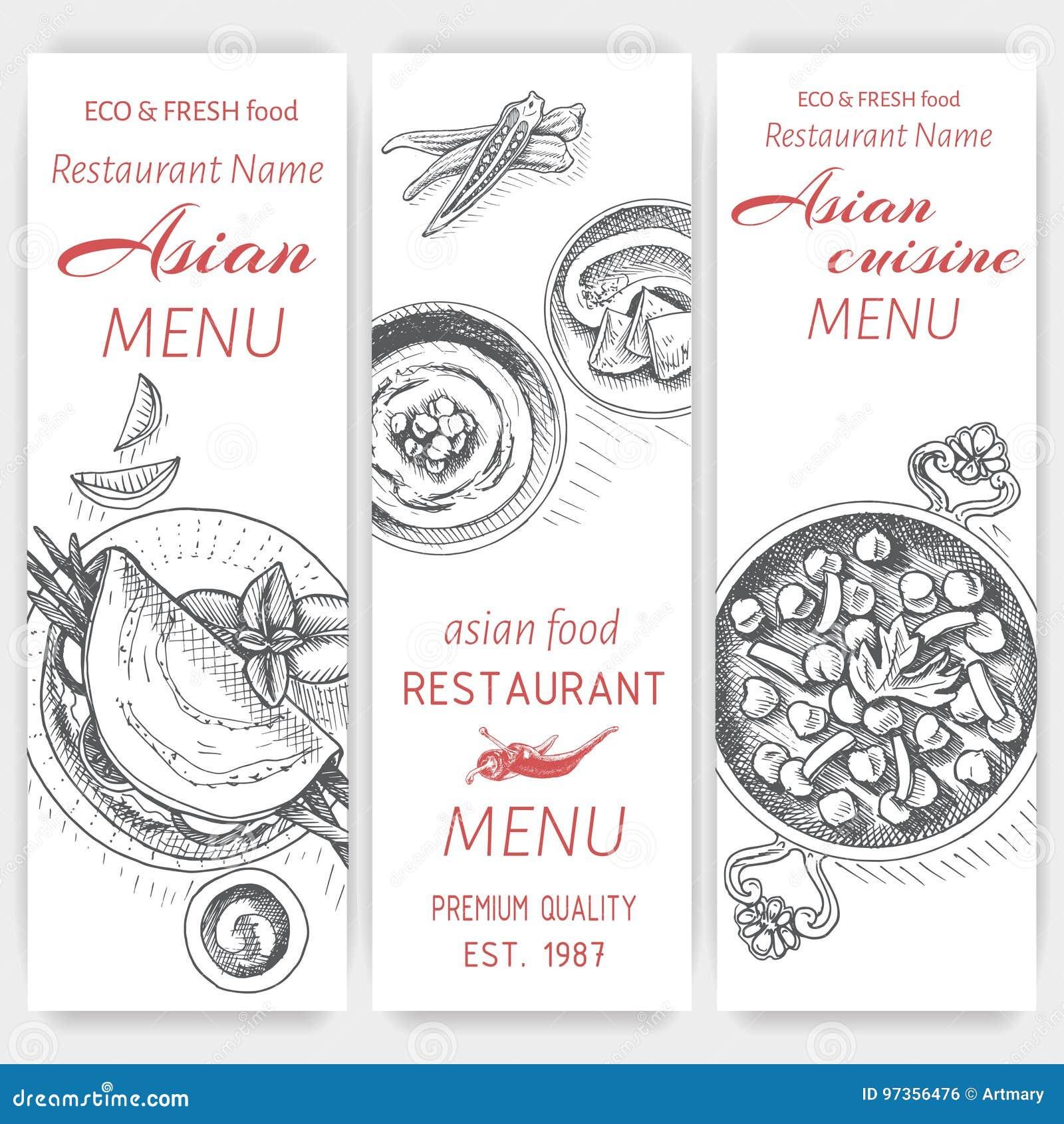 Moderno Plantilla De Menú De Restaurante Indio Friso - Ejemplo De ...