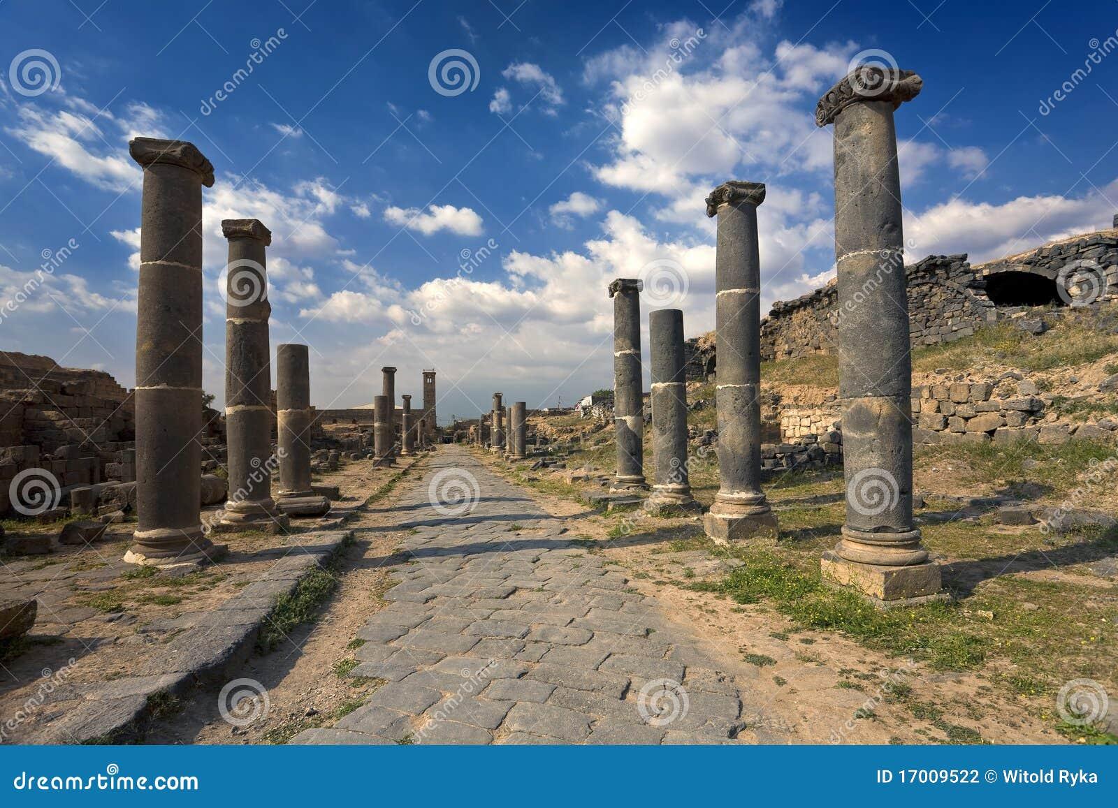 Bosra - die römischen Bäder