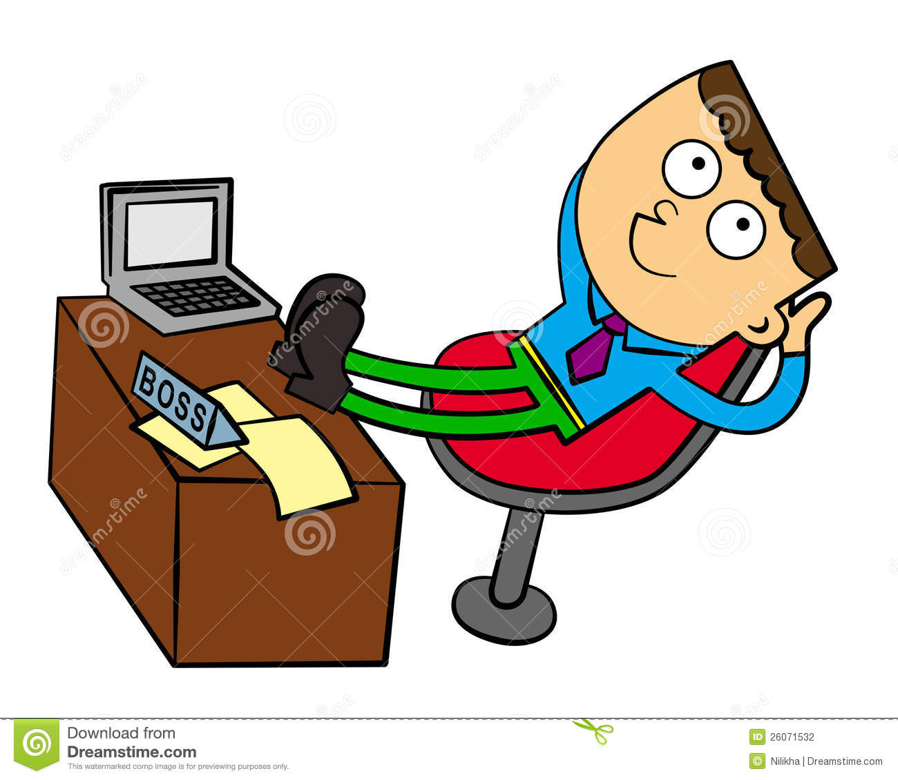 Boss At Ease Stock Photography - Image: 26071532