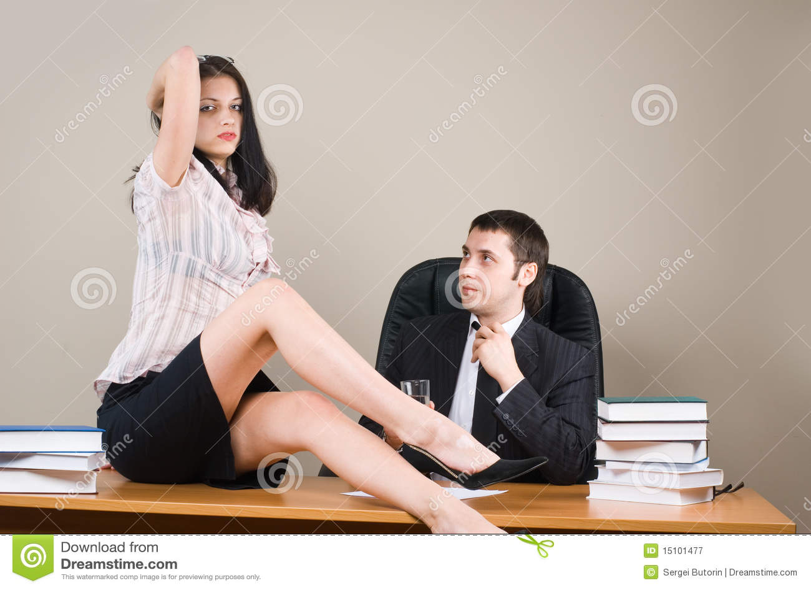 Секретарша с начальникам 1 фотография