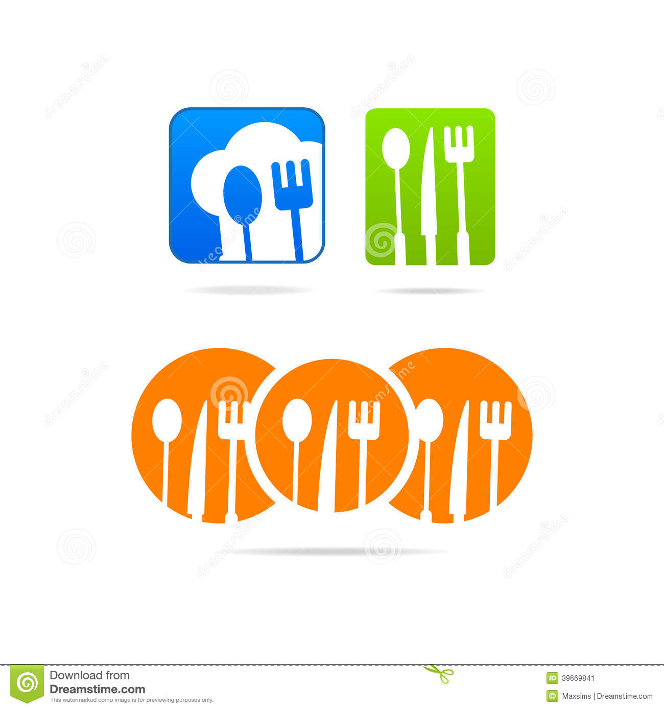 Boss Icon Kitchen Logo Web Business Sign Stock Vector