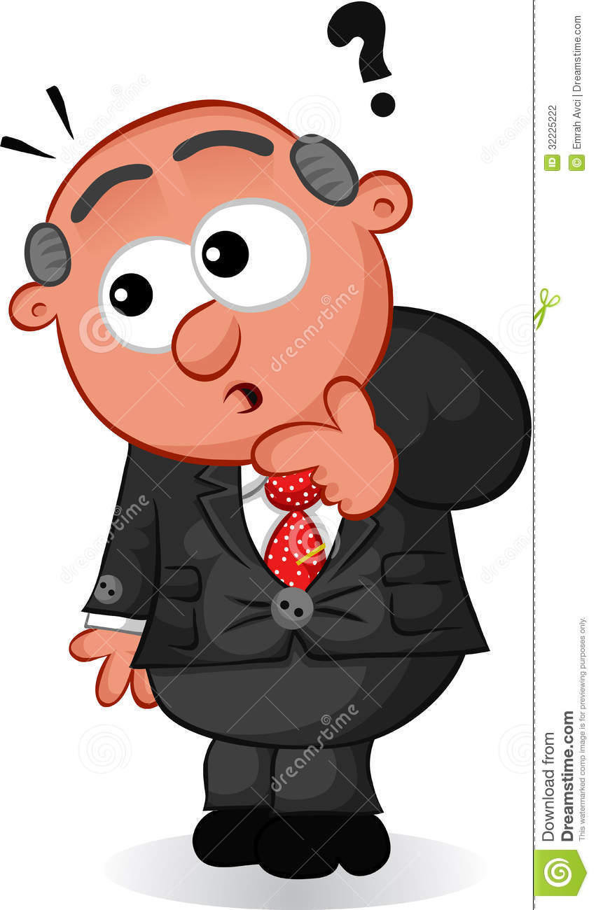 Cartoon Man Scared High Resolution Stock Photography and