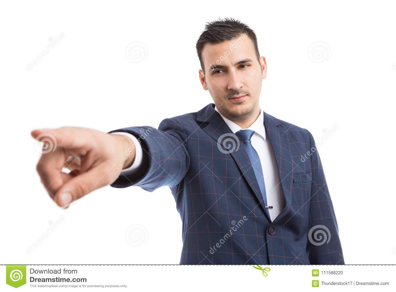 Boss manager showing fired dismiss gesture