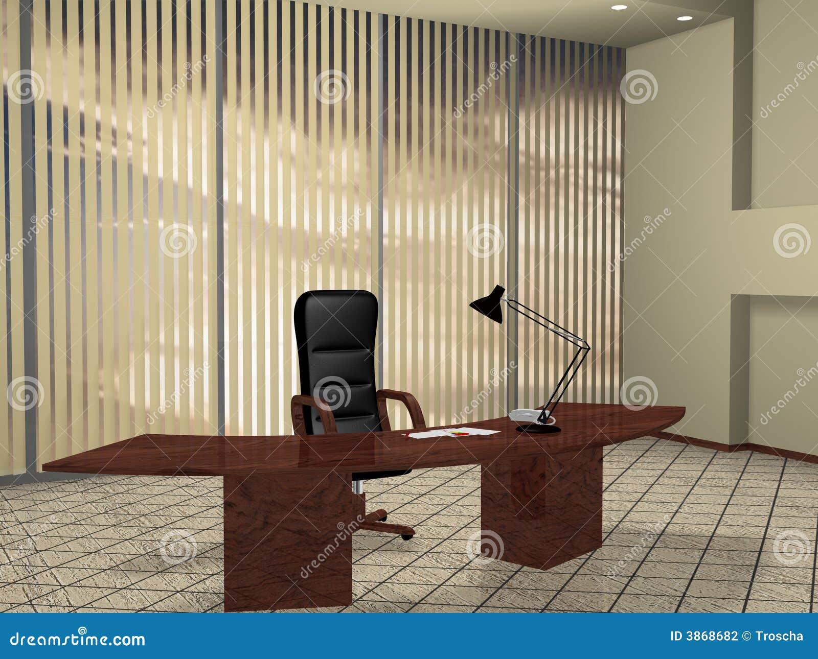 Boss Room Stock Illustration Illustration Of Association