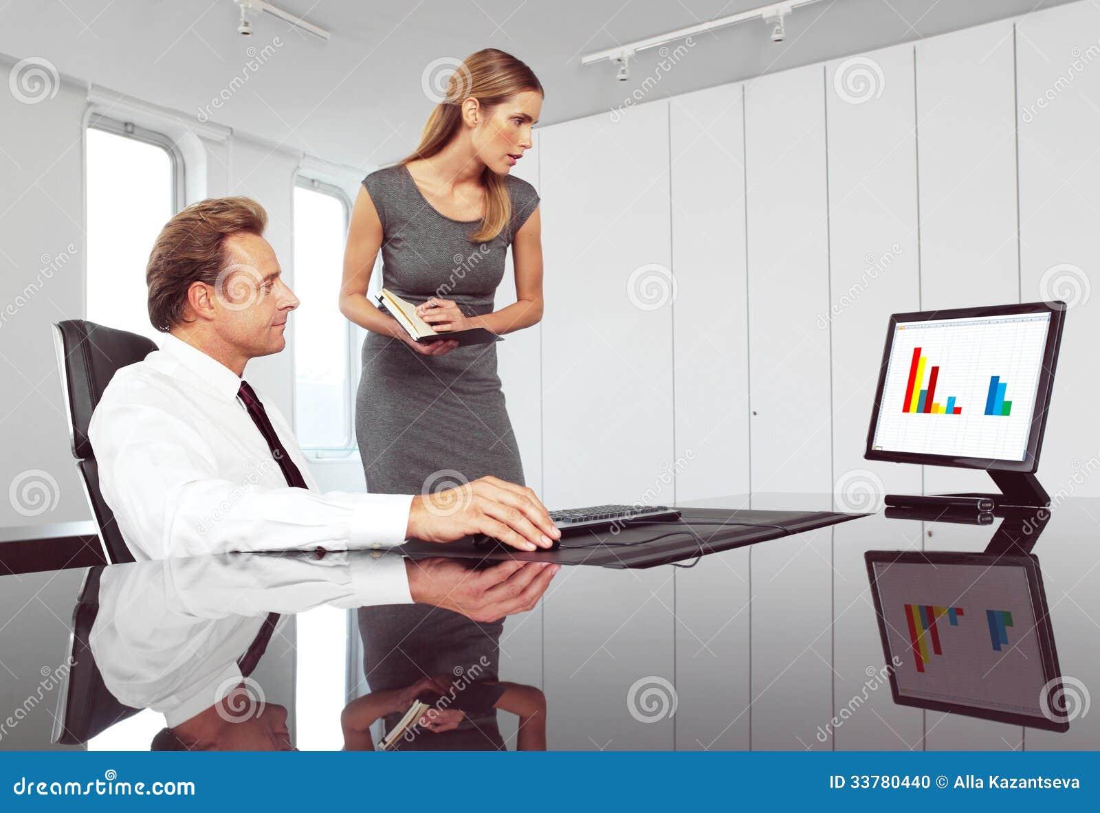 Chef Und Sekretärin