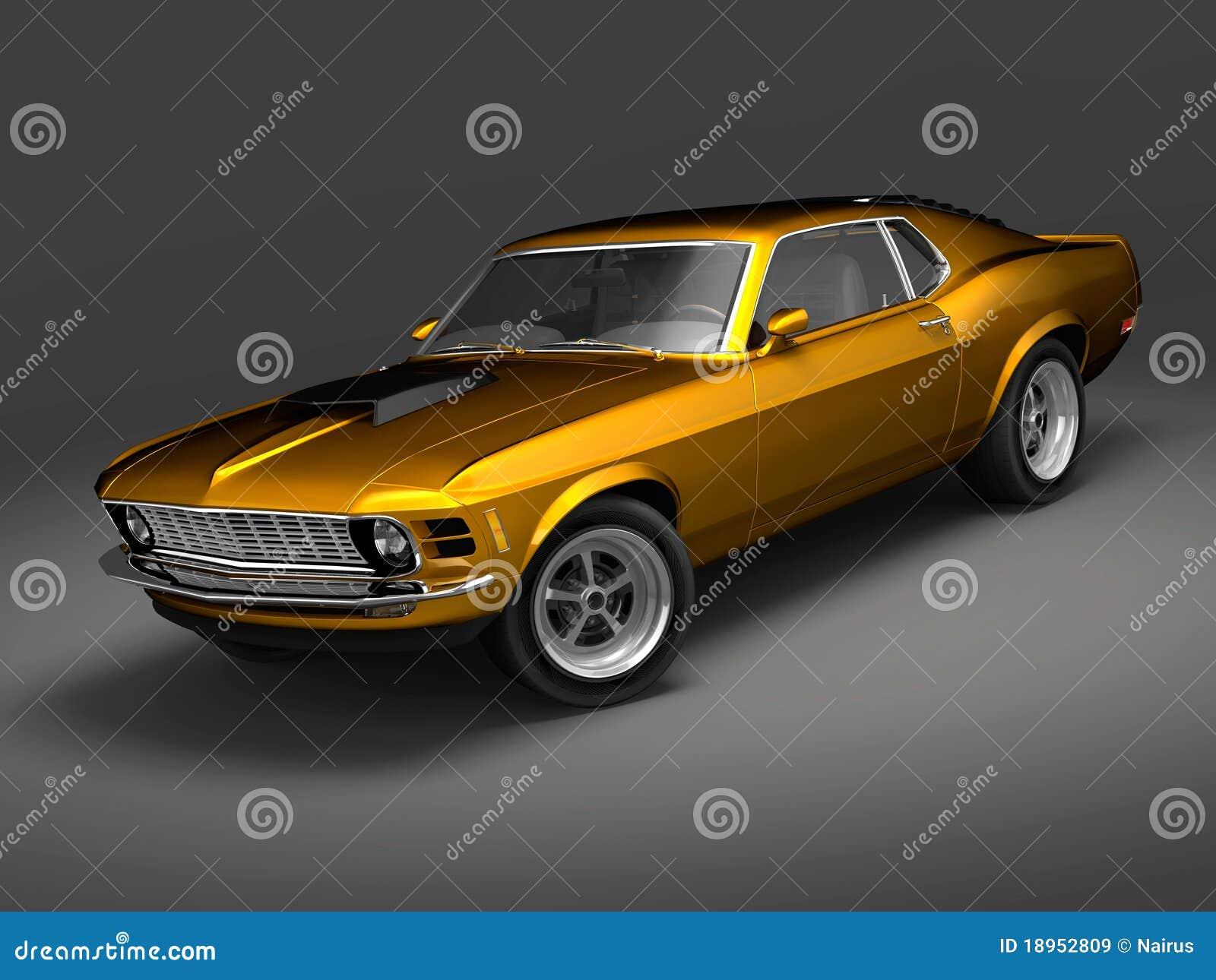Bossage 1 de mustang de Ford