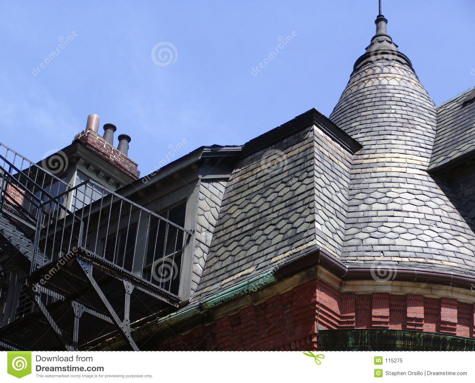 Boston Brownstone Rooftop