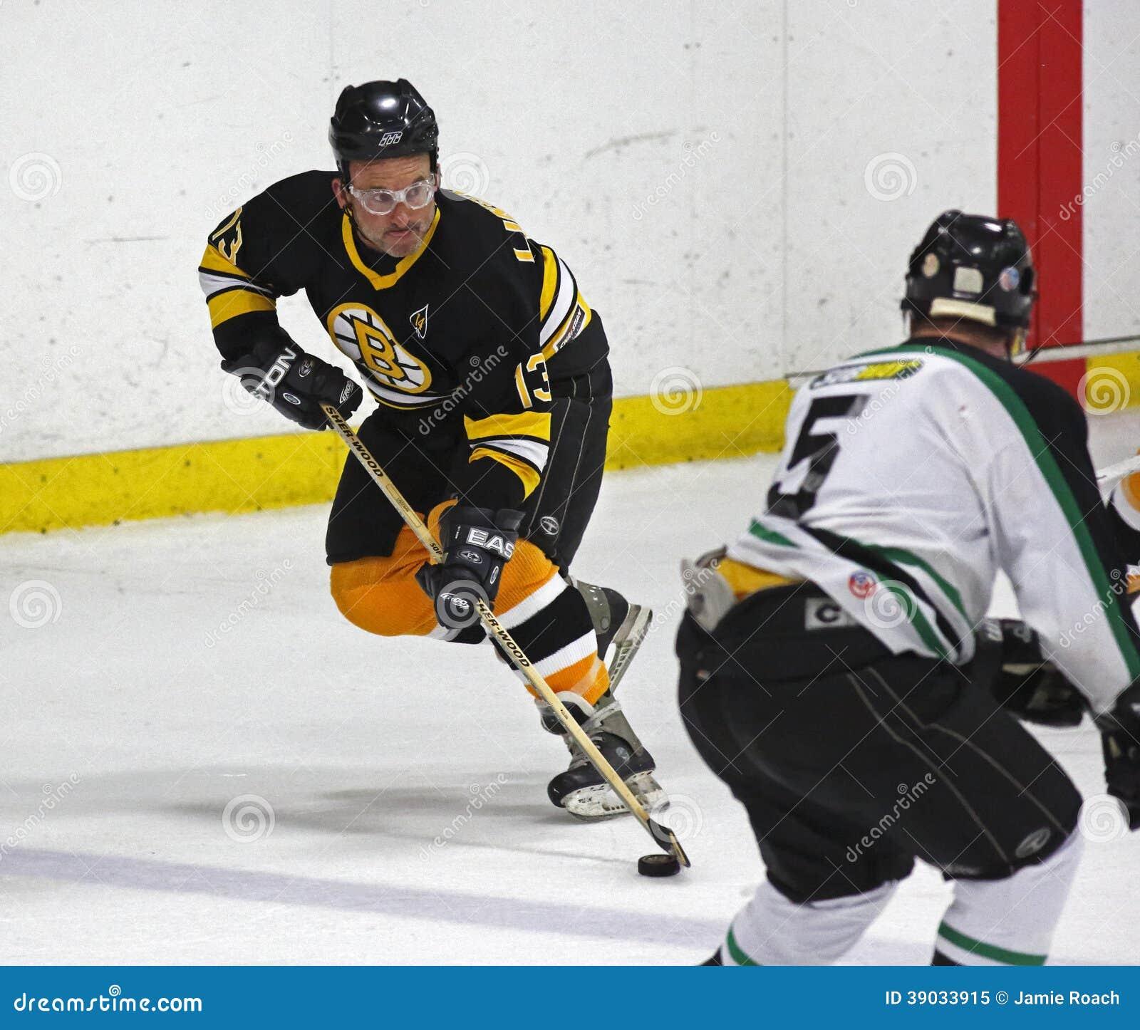 Boston Bruins Alumni Hockey Game Ken Linseman Editorial