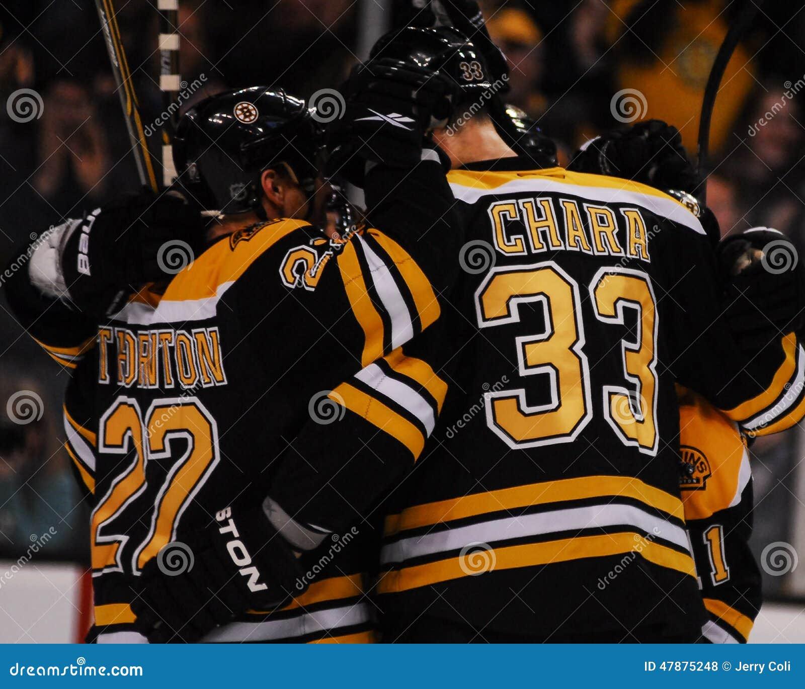 Boston Bruins Score. Editorial Image