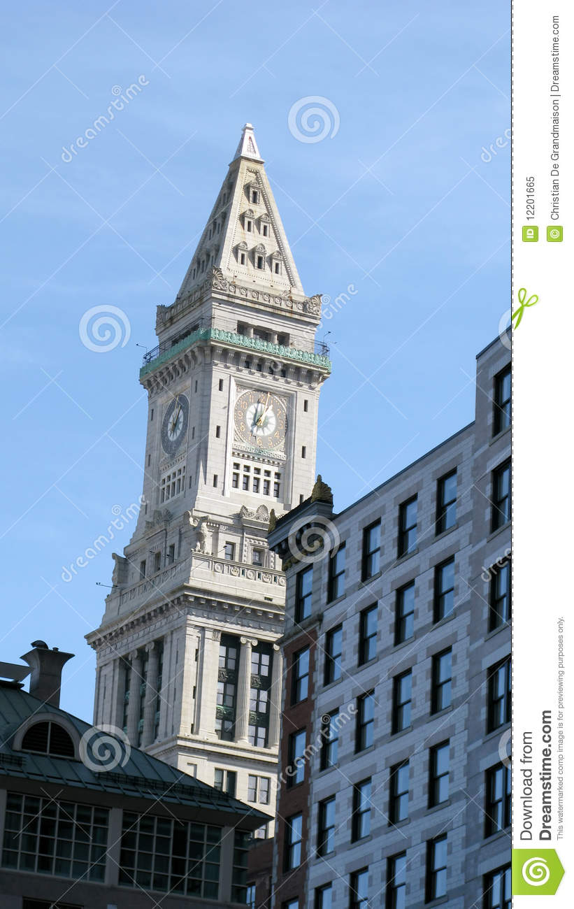 Architecture Buildings In Boston boston buildings and landmark royalty free stock photo - image