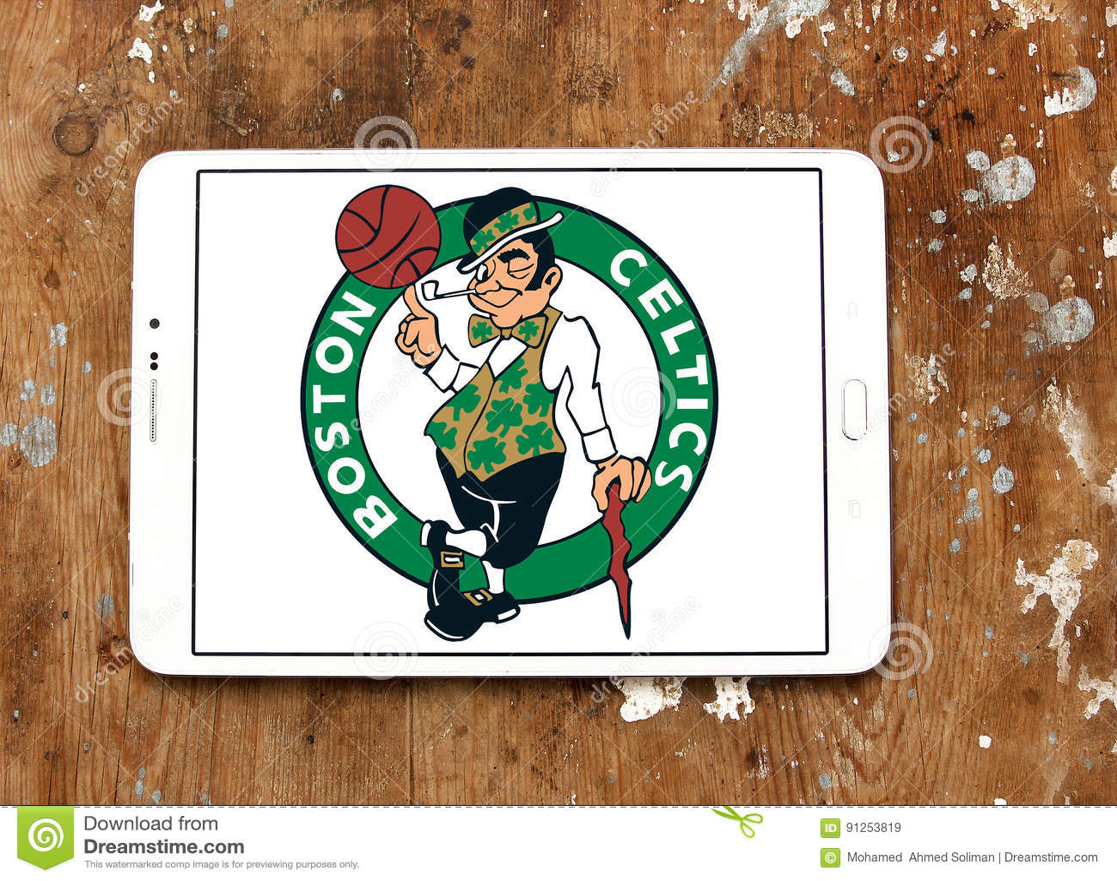Boston Celtics American Basketball Team Logo Editorial Stock Image Image Of Famous Ligue 91253819