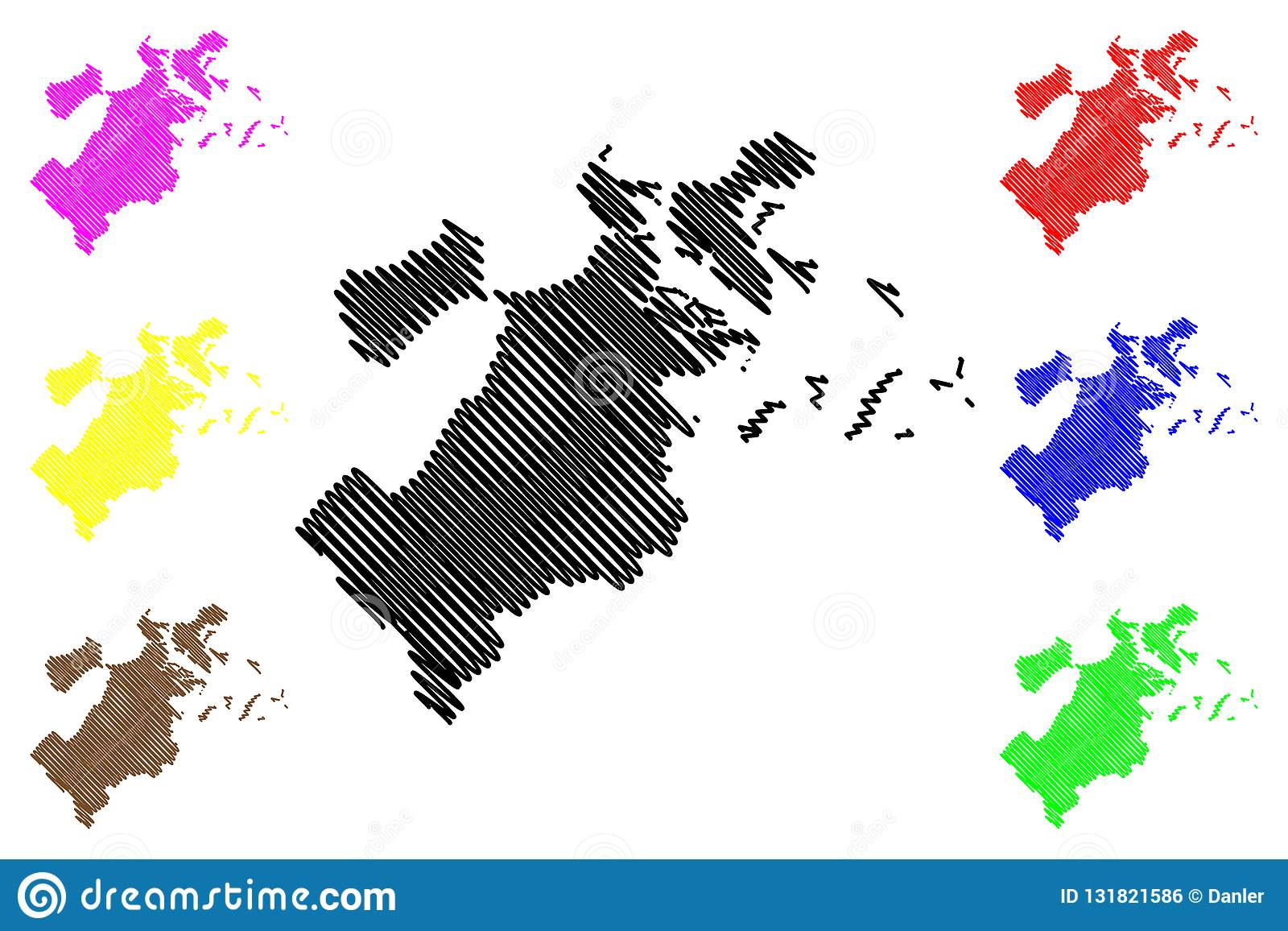 Boston City map vector stock vector. Illustration of american ...