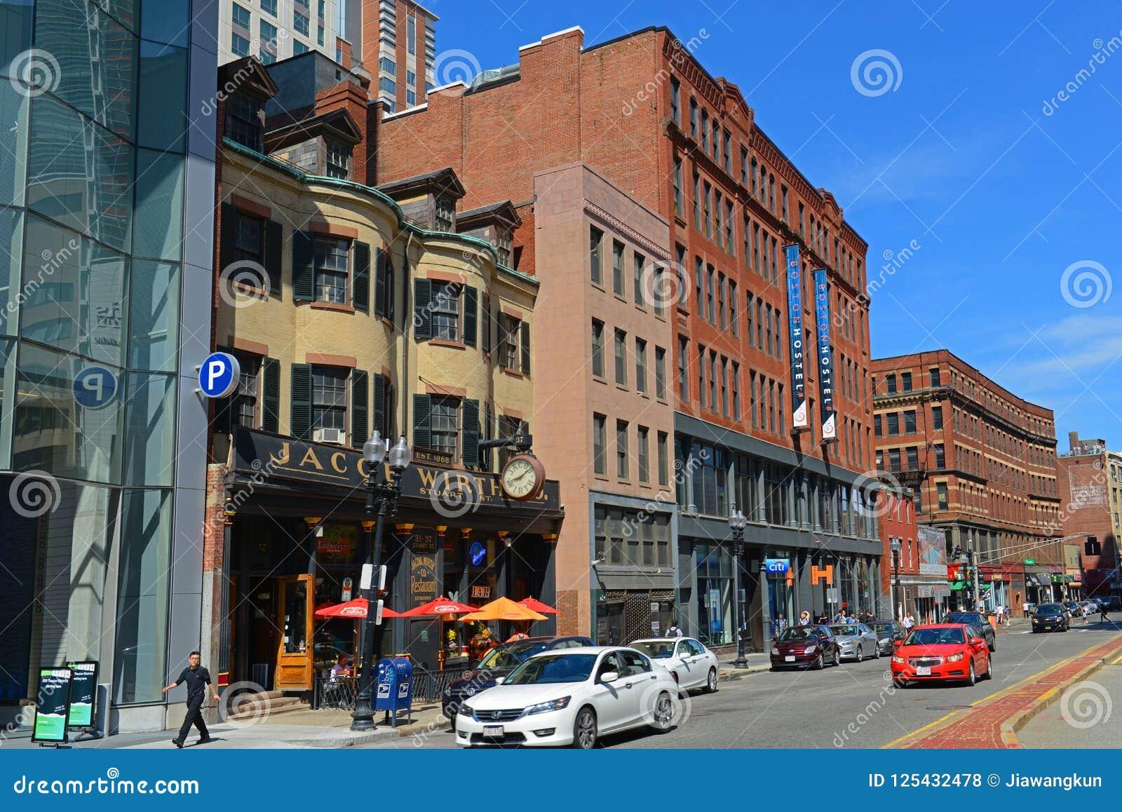 Boston Historyczni budynki, Massachusetts, usa