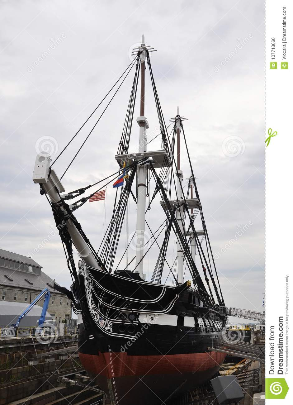 Uss Constitution Stock Images - Download 118 Royalty Free ...