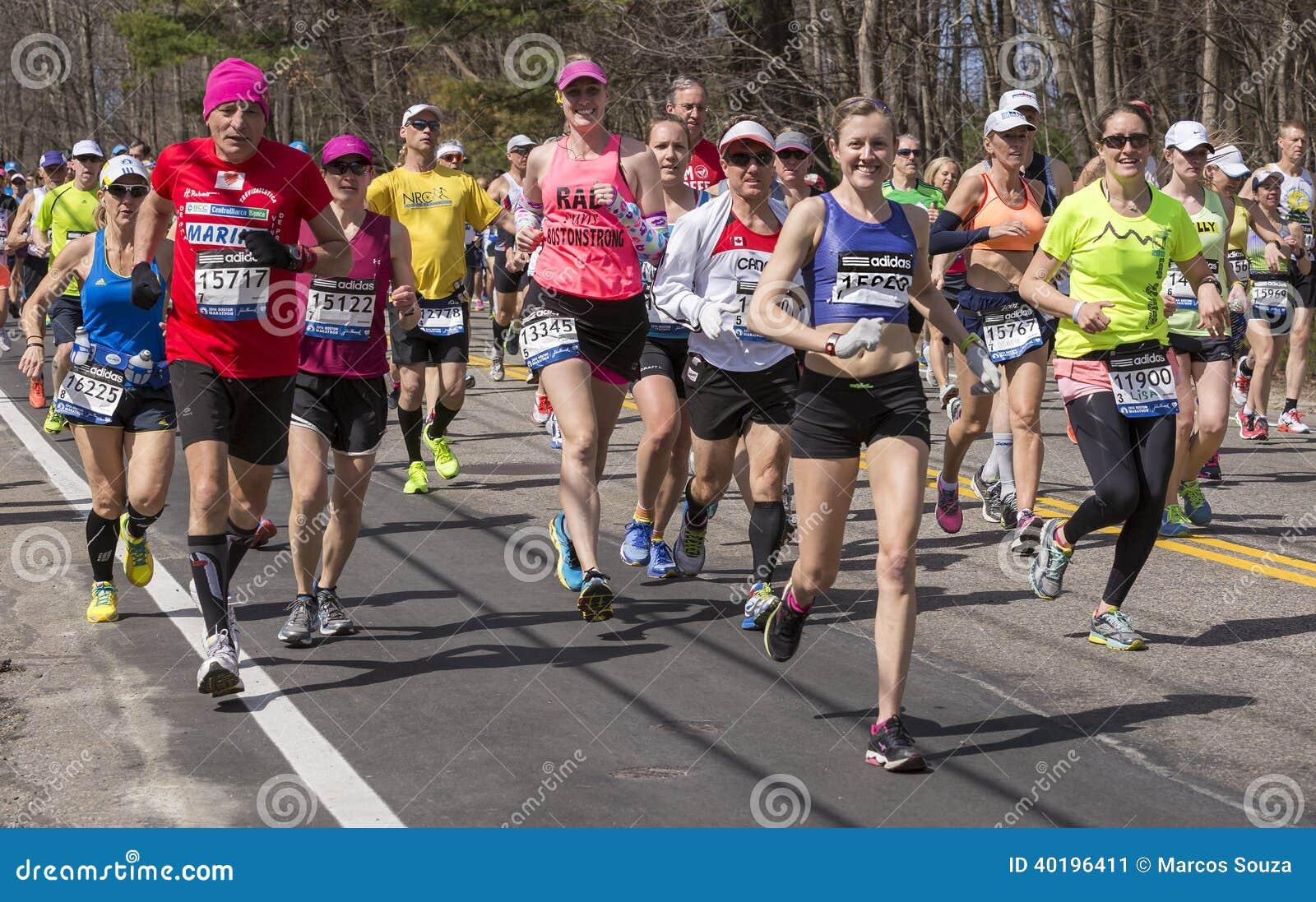 The Boston Marathon 2014