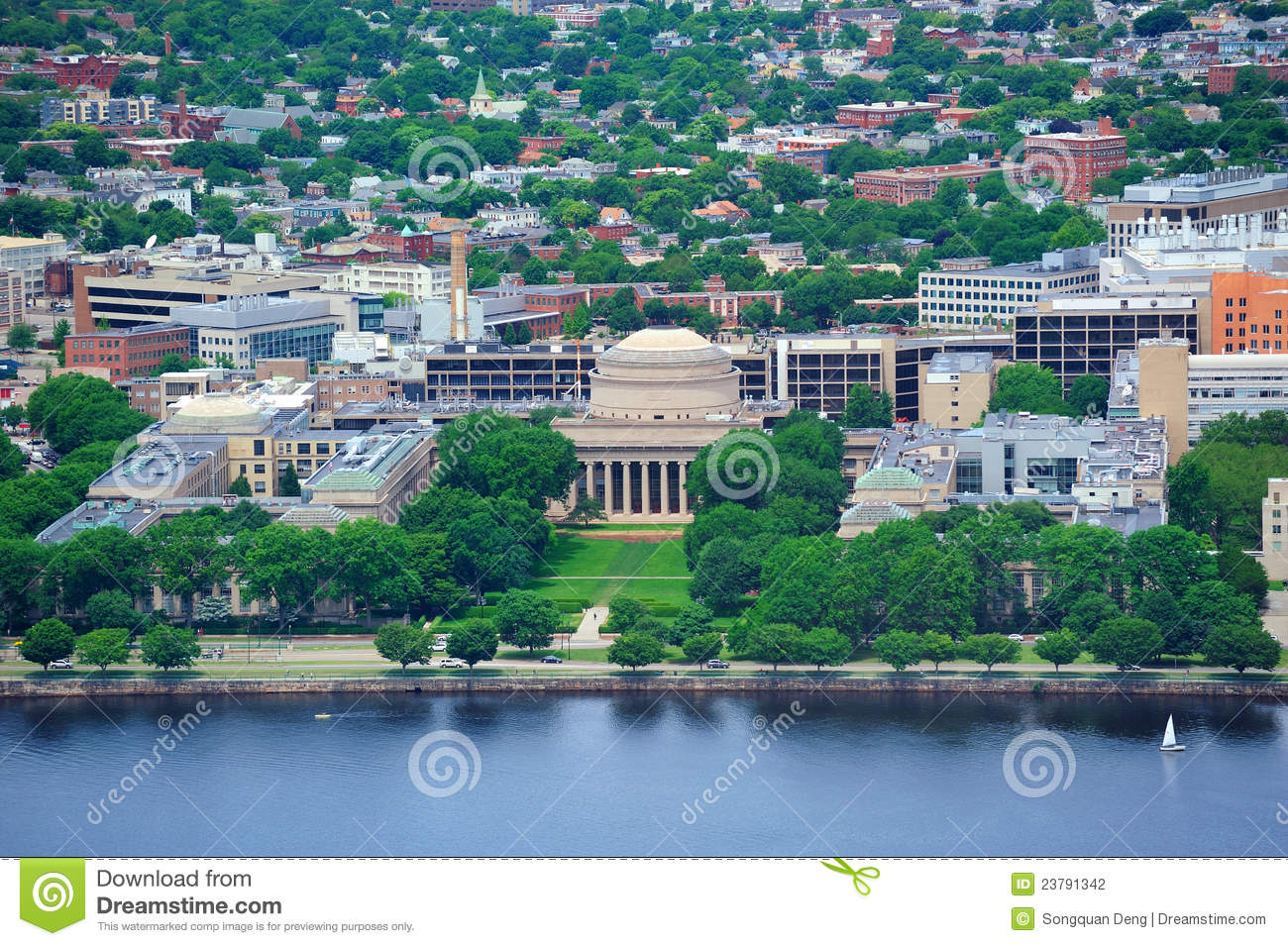 boston mit campus stock photo image of historic college 23791342. Black Bedroom Furniture Sets. Home Design Ideas