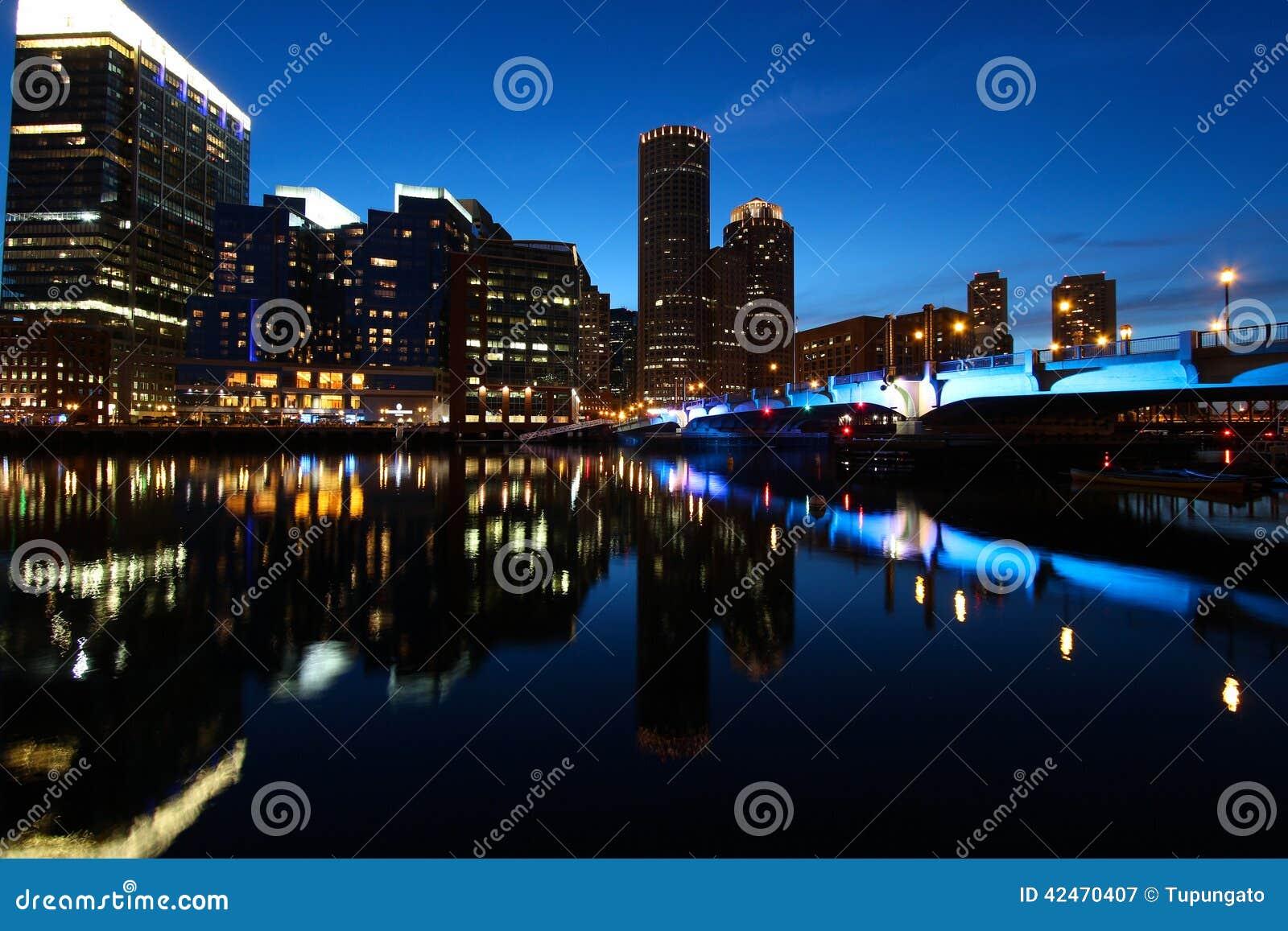 Boston-Nacht