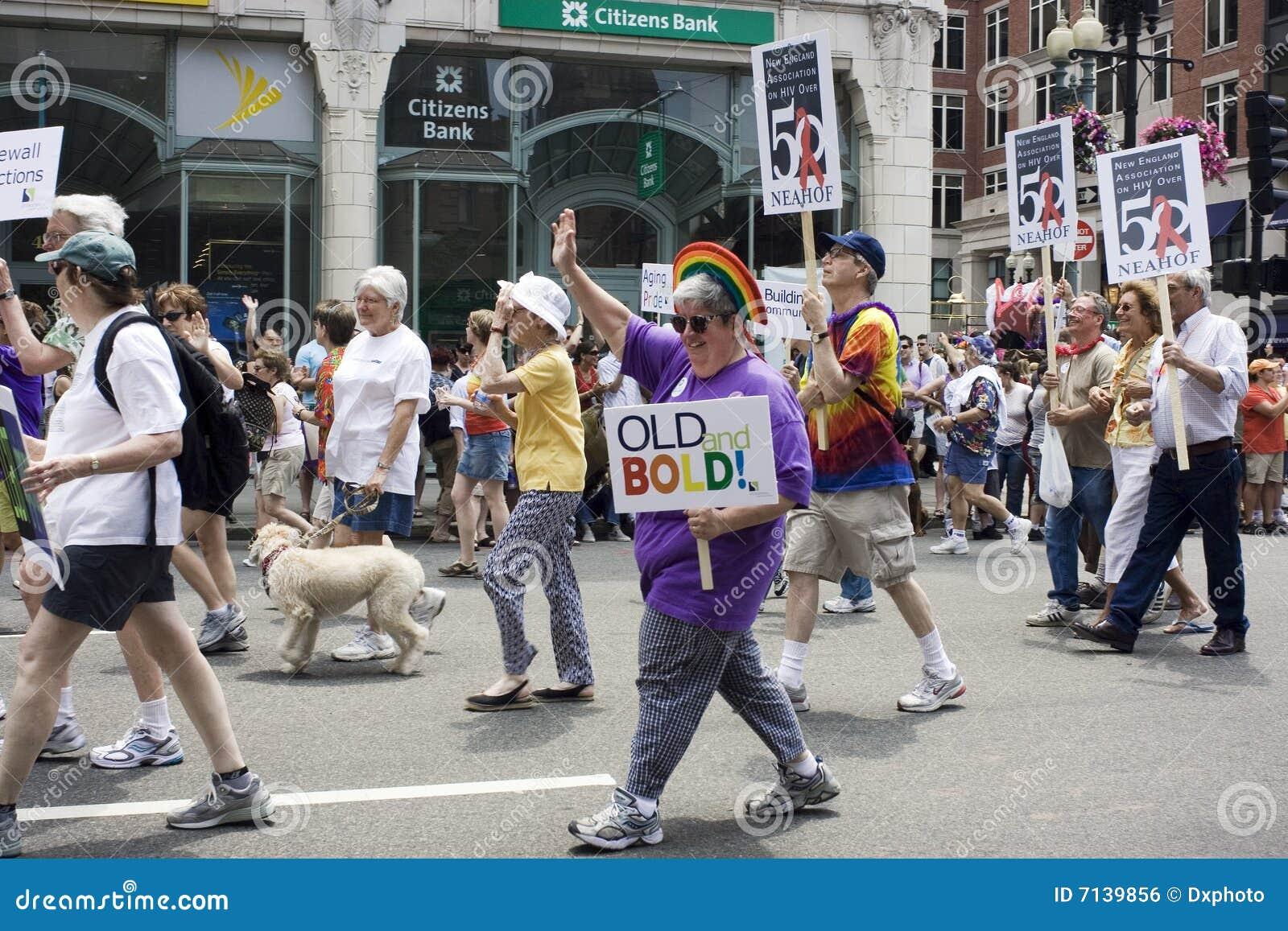 Boston Pride Parade editorial photo. Image of people, boylston - 7139856