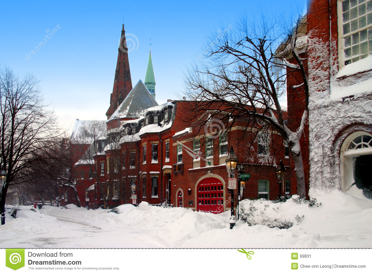 Boston vinter