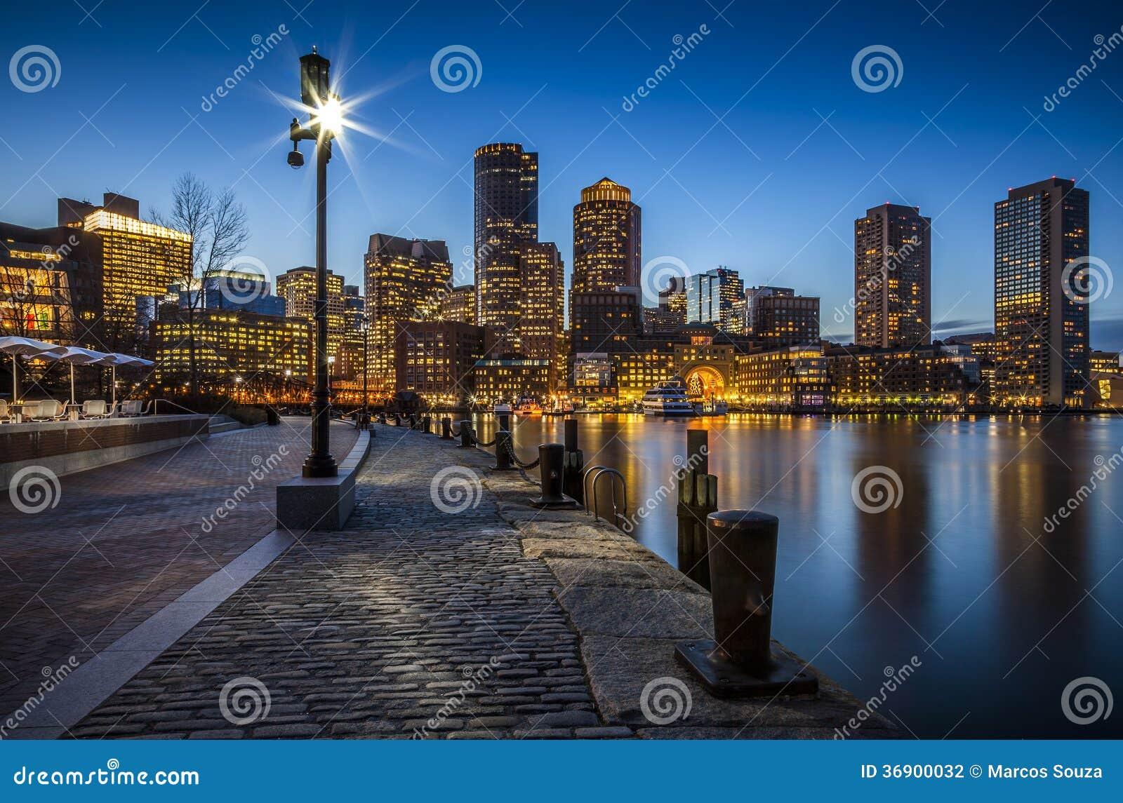 Boston w Massachusetts, usa