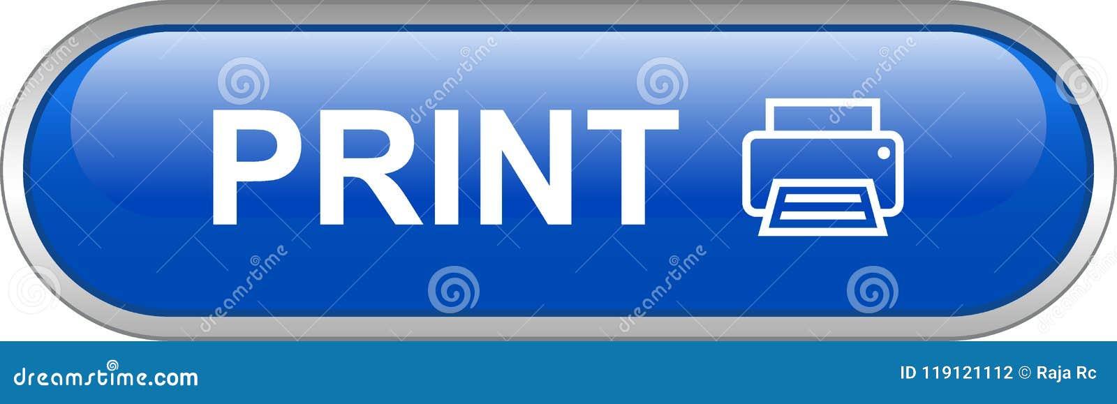 Botão da Web da impressora