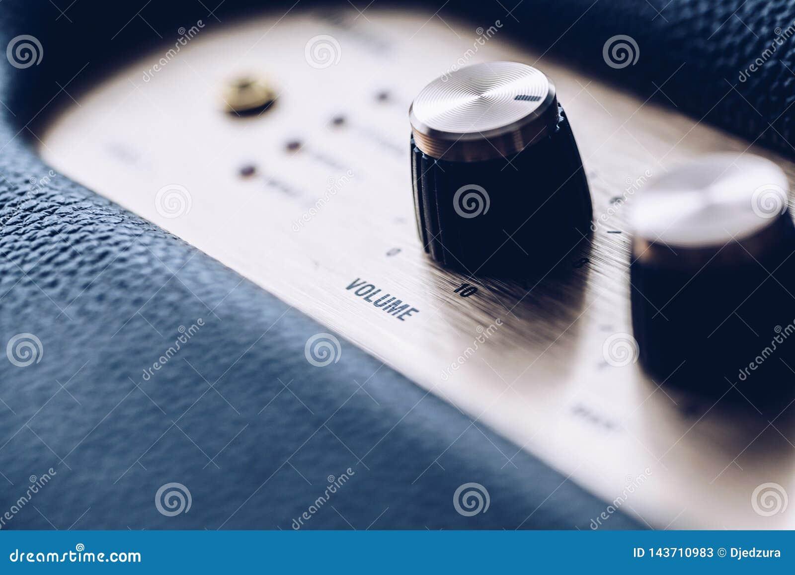 Botão de controle do volume da música