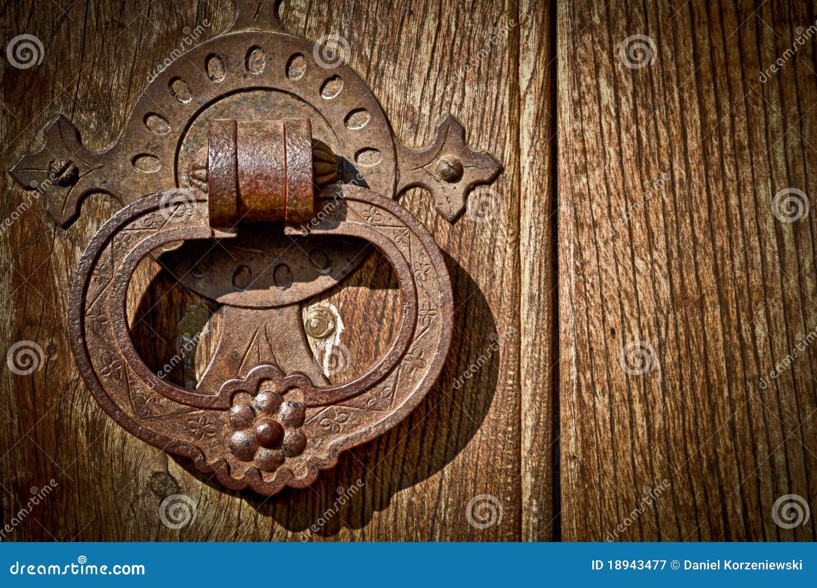 Botão de porta antigo