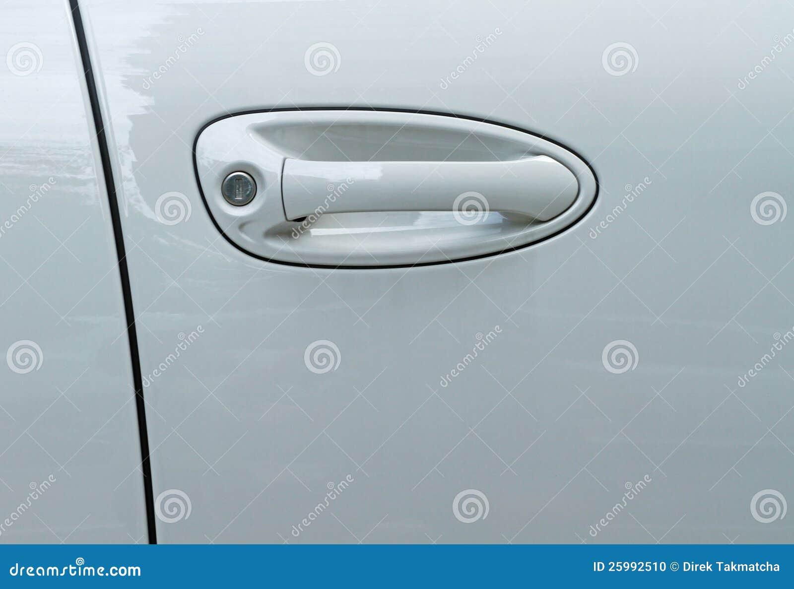 Botão de porta do carro