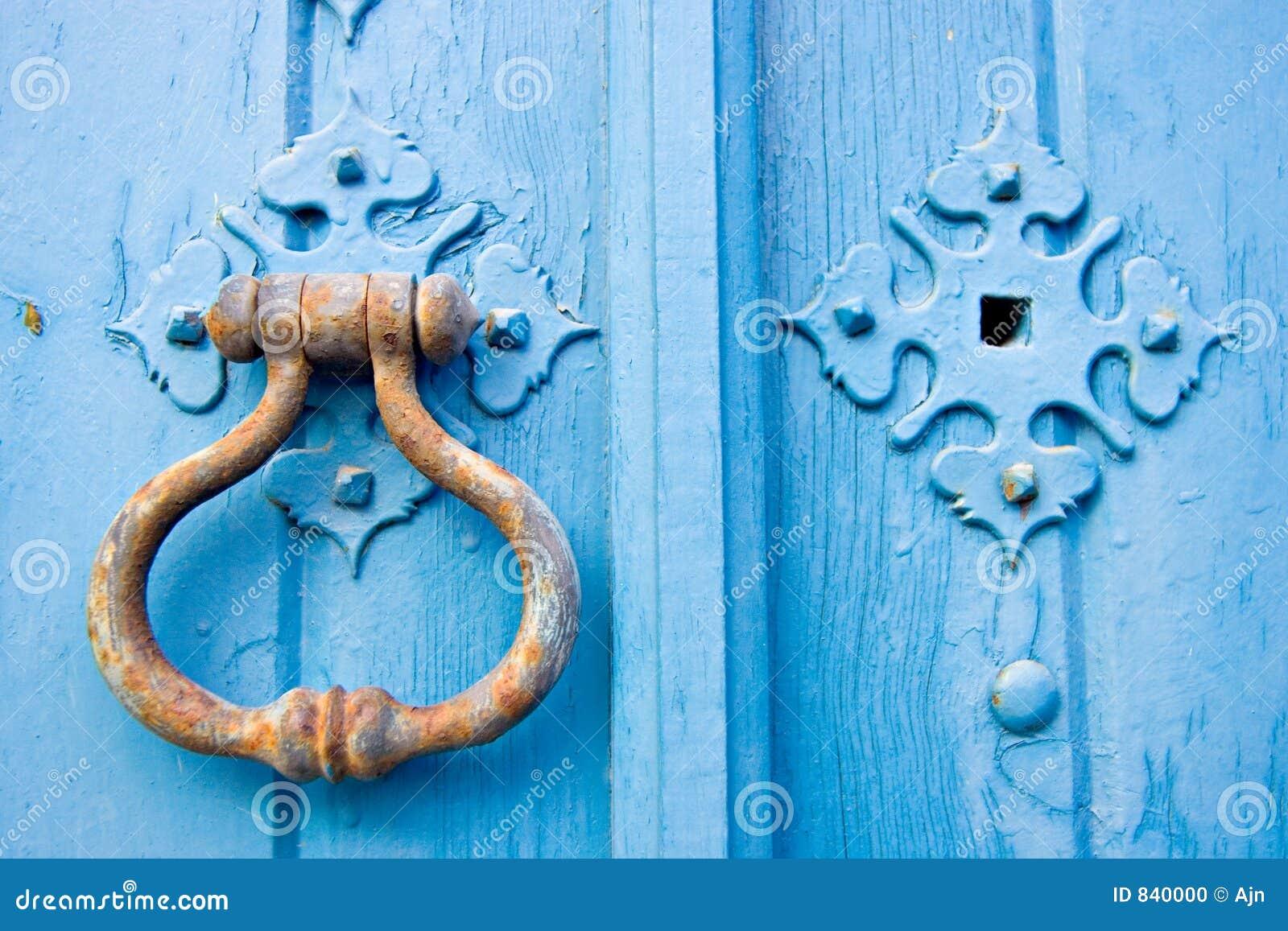 Botão de porta velho