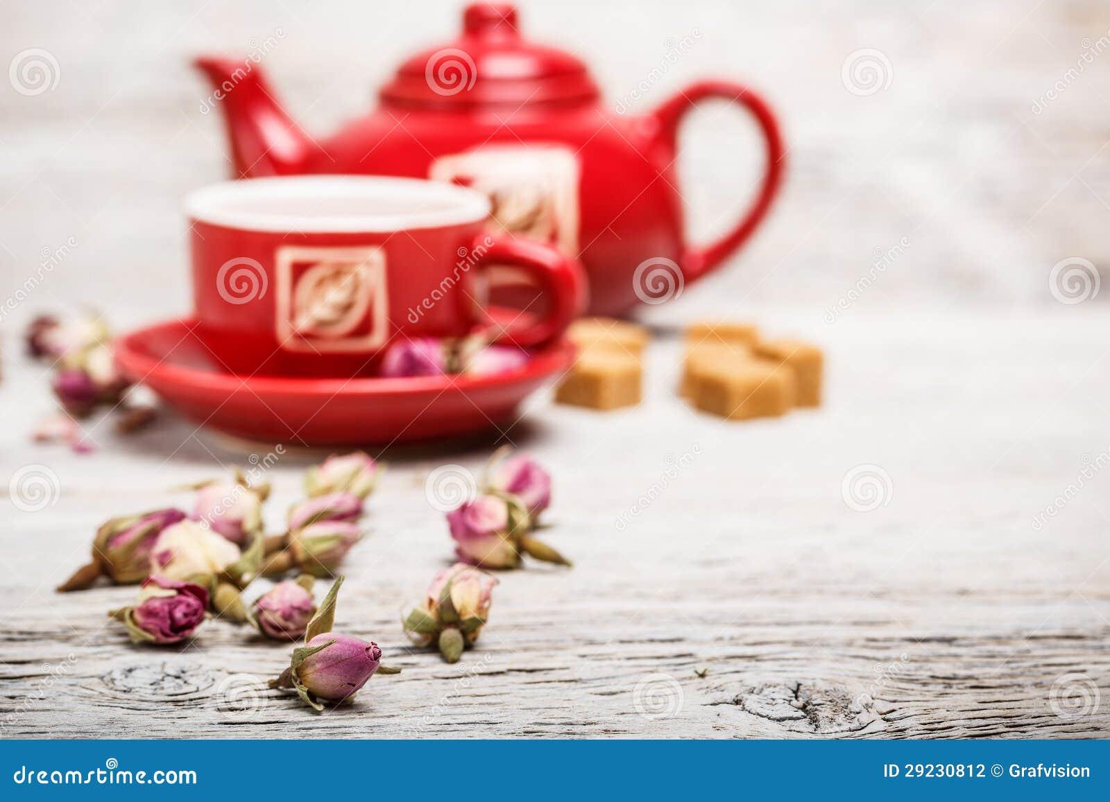 Download Botão de Rosa foto de stock. Imagem de infusion, breakfast - 29230812