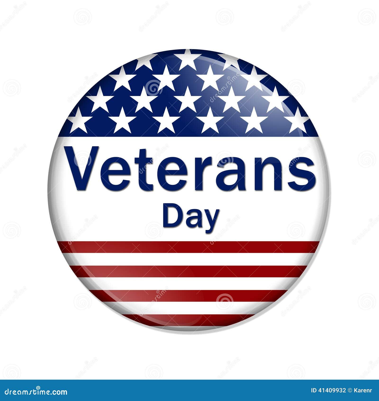 Botão do dia de veteranos