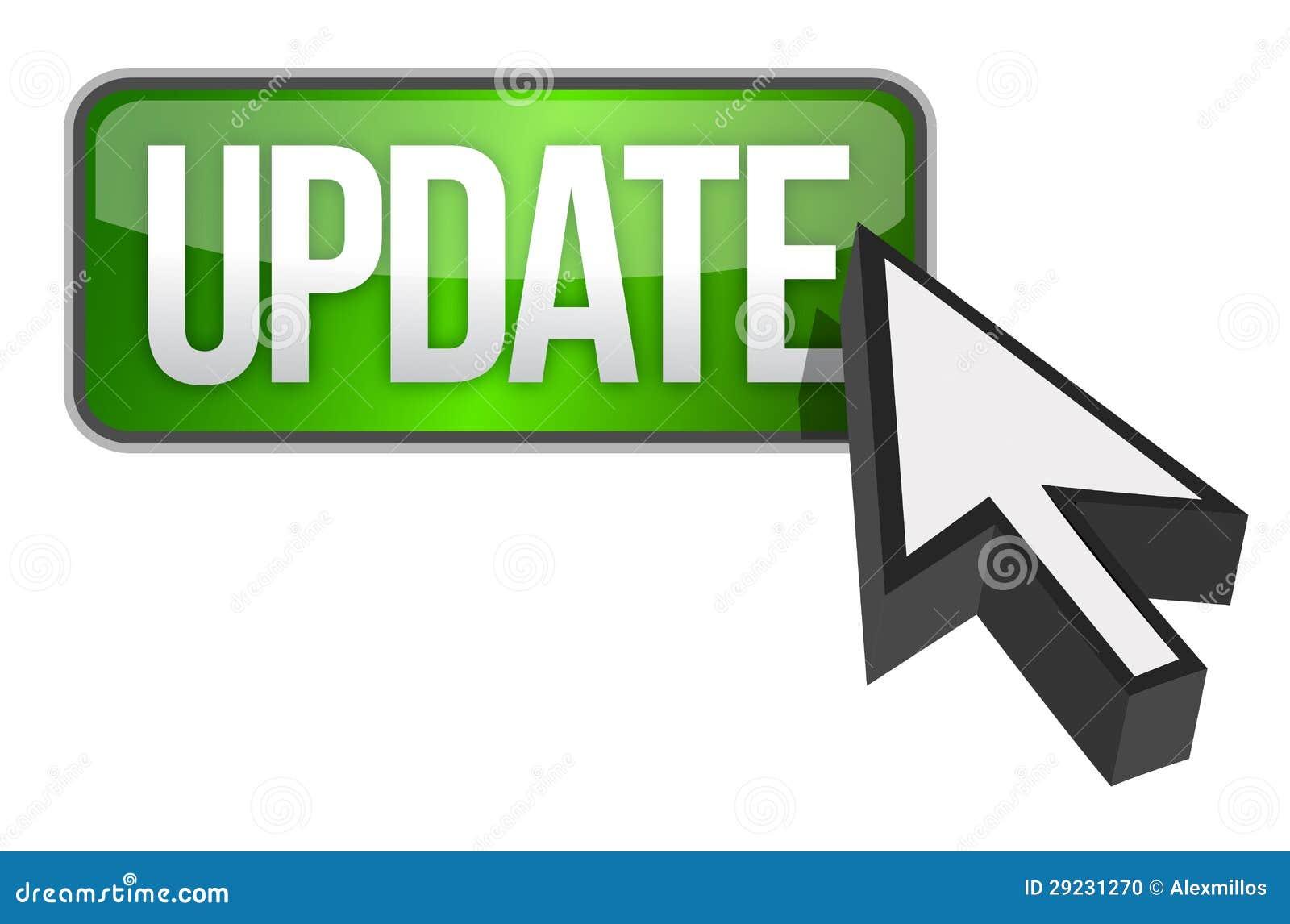 Download Botão Verde Da Atualização E Um Cursor Ilustração Stock - Ilustração de software, pessoal: 29231270