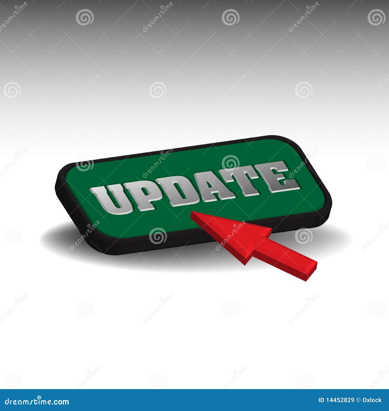 Botón de la actualización