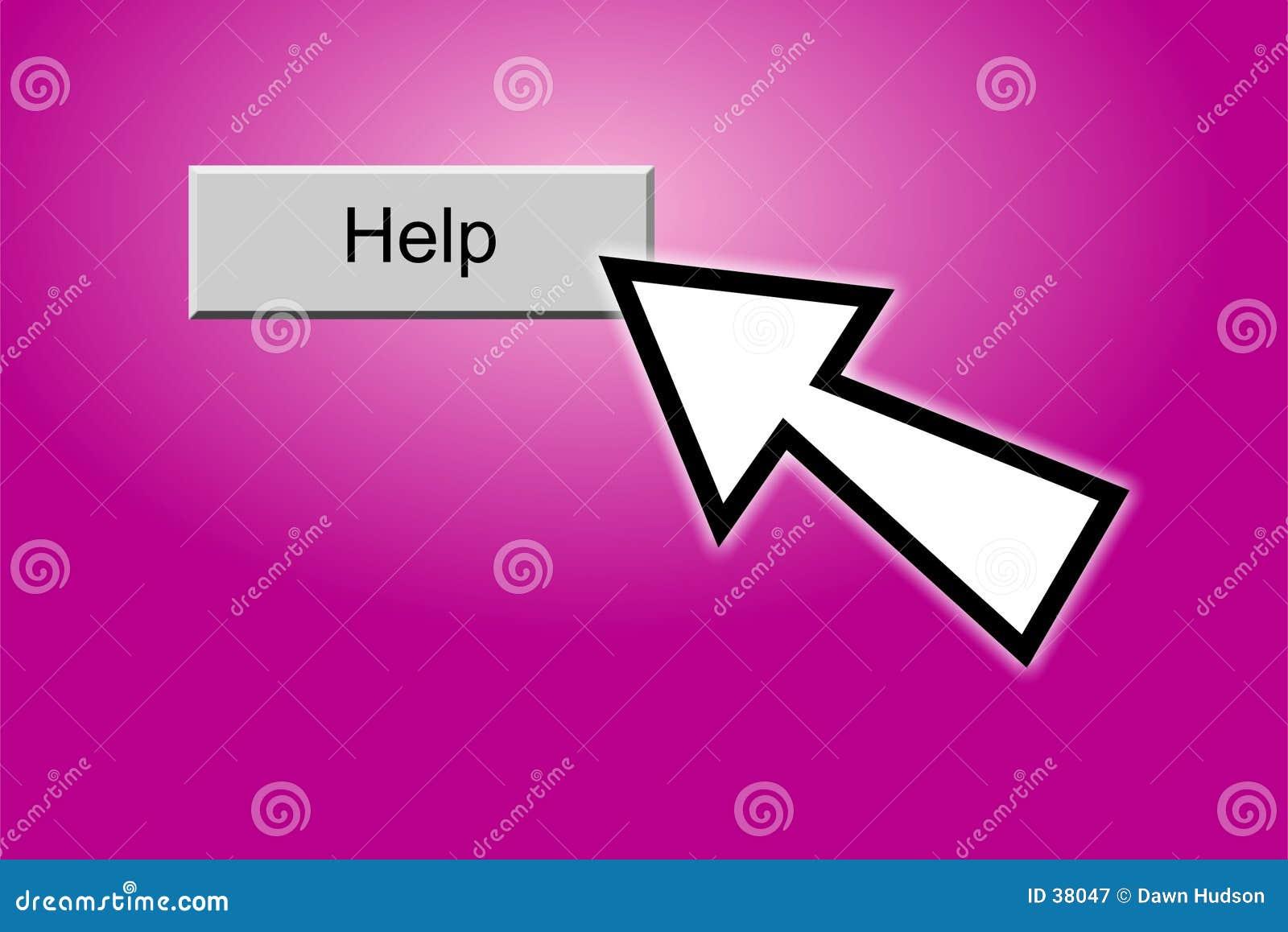 Botón de la ayuda