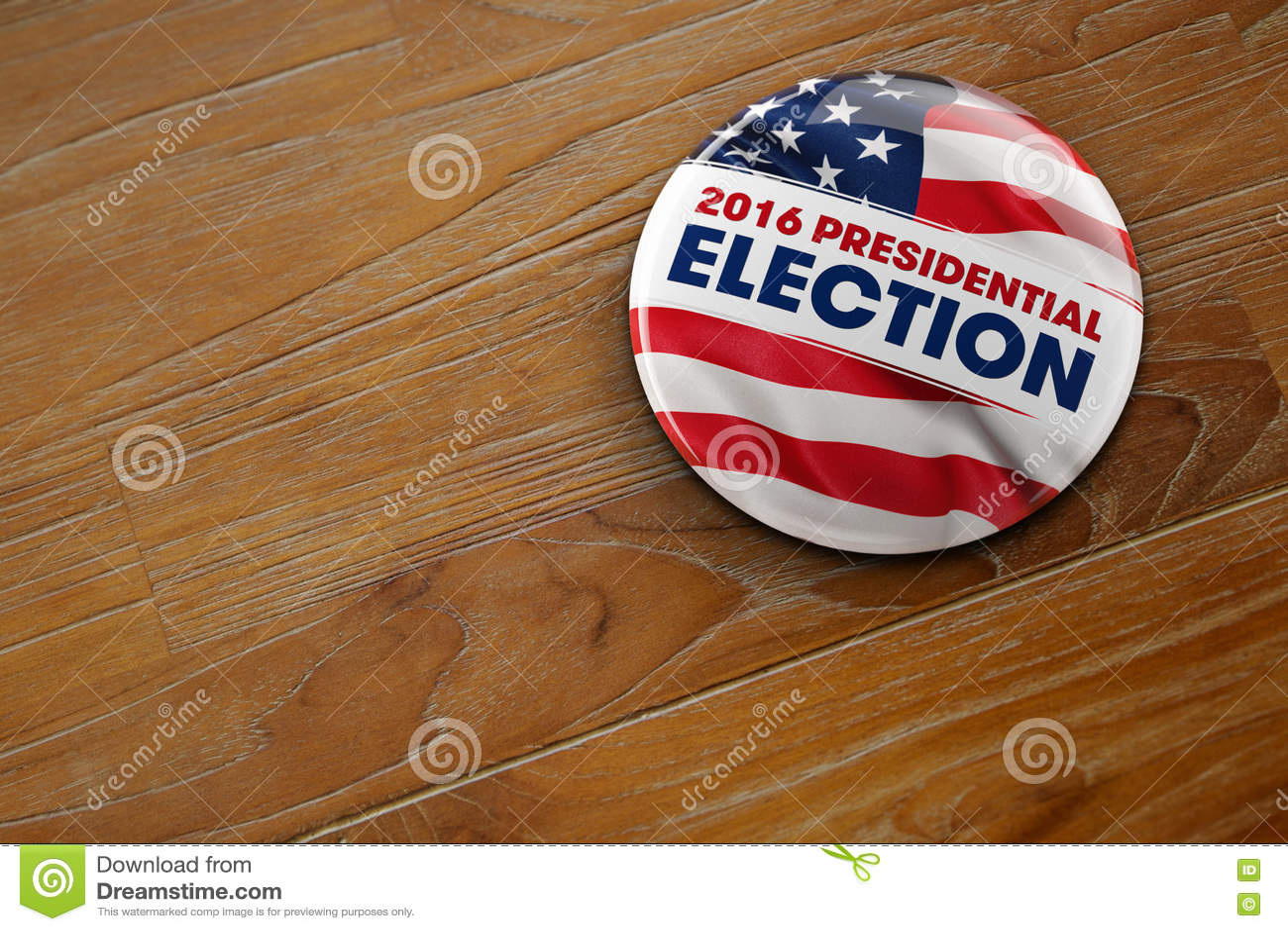 Botón de la elección presidencial 2016