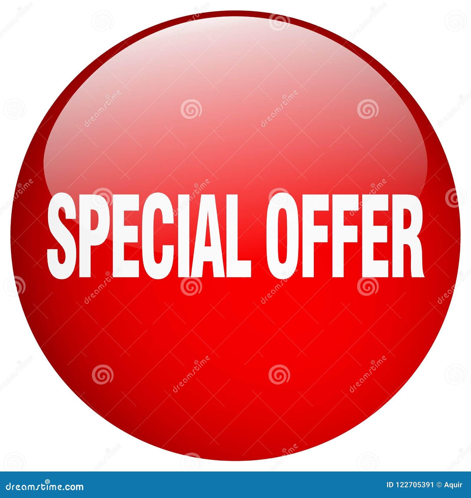 Botón de la oferta especial