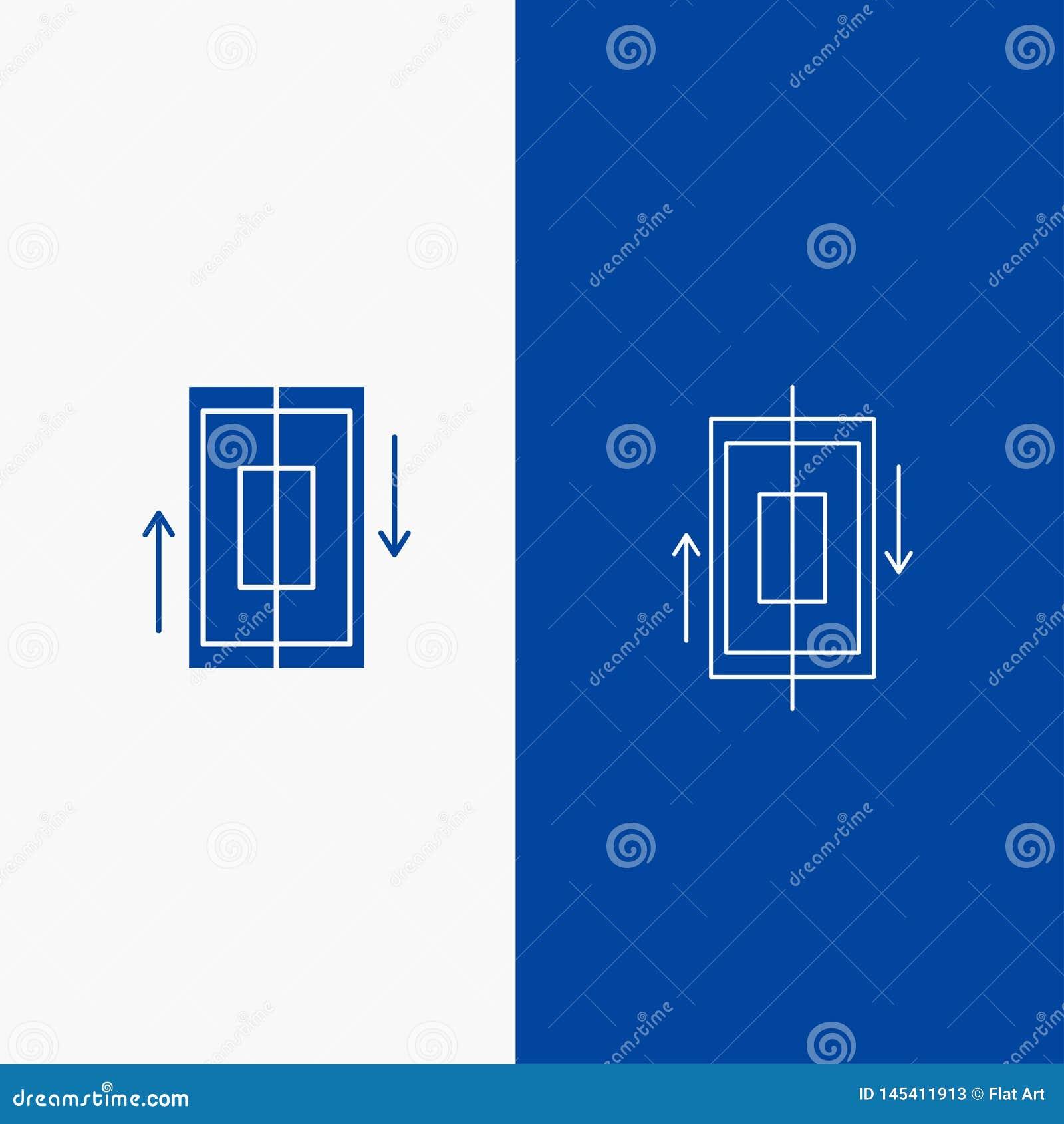 Botón de la sincronización, de la web de la sincronización, de los datos, del teléfono, de la línea del smartphone y del Glyph en