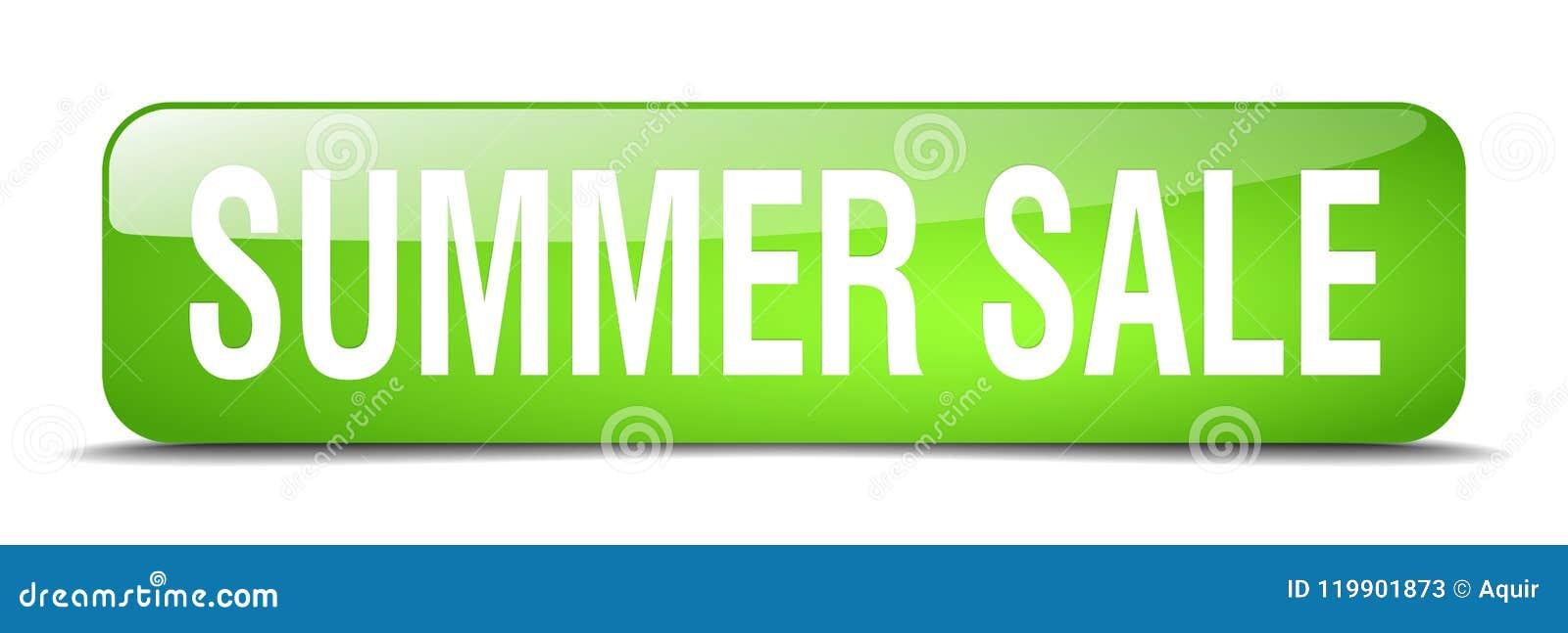Botón de la venta del verano