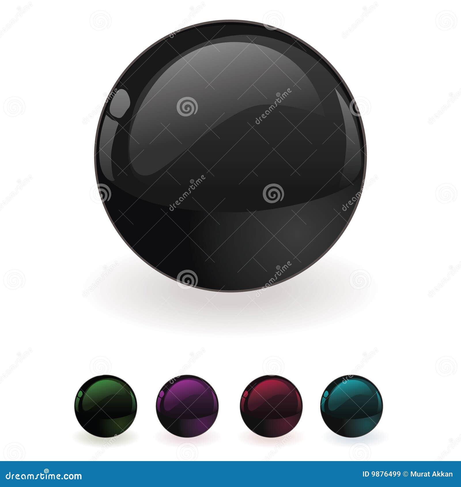 Botón del orbe del vector