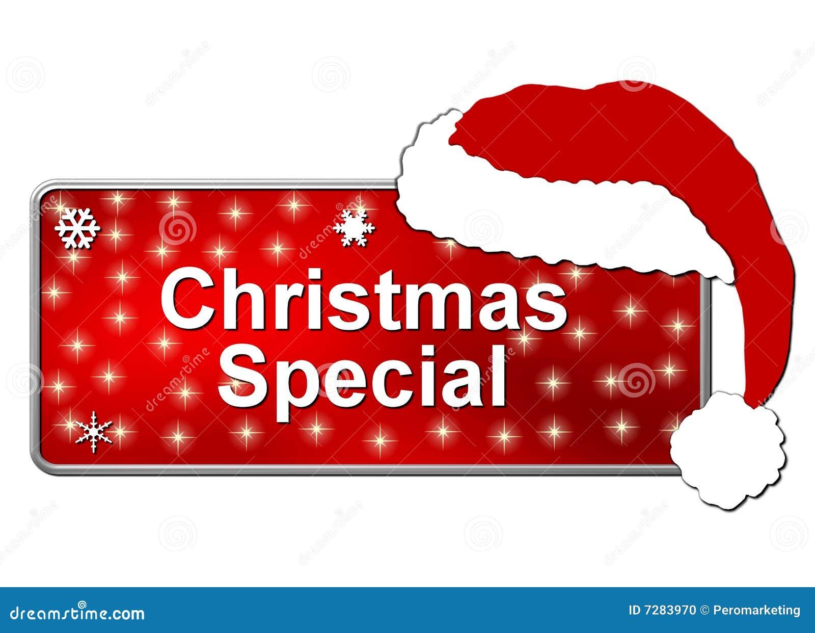Botón del Special de la Navidad