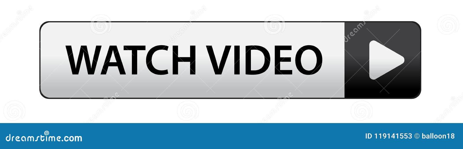Botón del vídeo del reloj